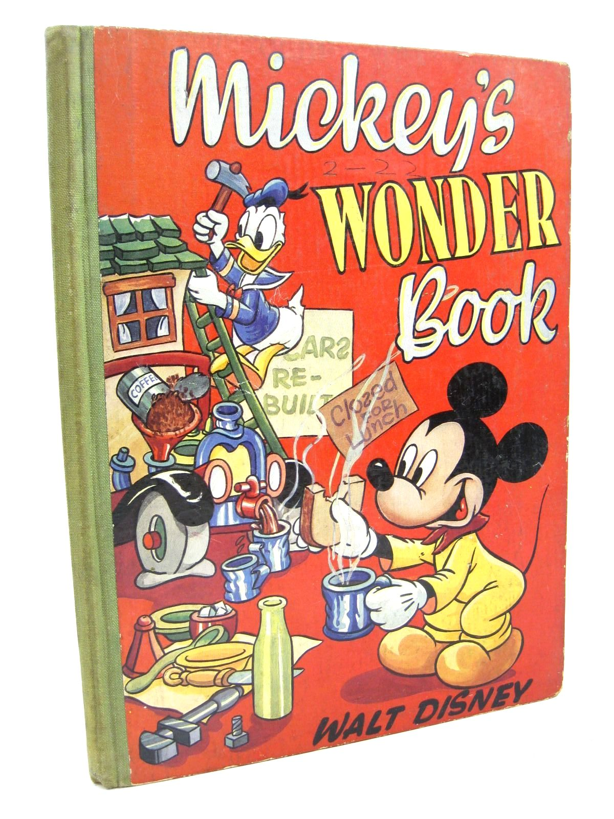 Photo of MICKEY'S WONDER BOOK written by Disney, Walt illustrated by Disney, Walt published by Collins (STOCK CODE: 1316322)  for sale by Stella & Rose's Books