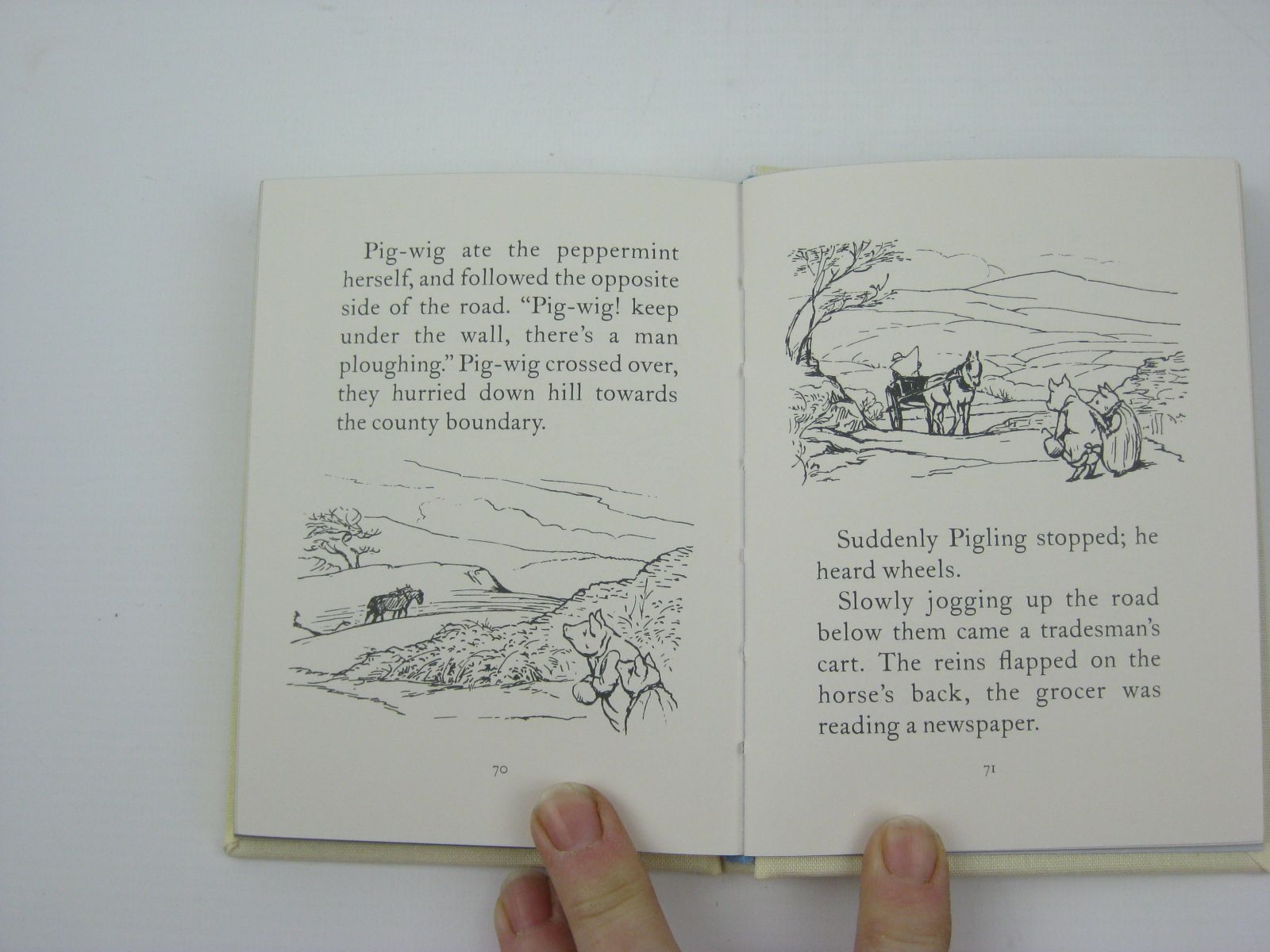 Photo of THE TALE OF PIGLING BLAND written by Potter, Beatrix illustrated by Potter, Beatrix published by Frederick Warne, The Penguin Group (STOCK CODE: 1316334)  for sale by Stella & Rose's Books
