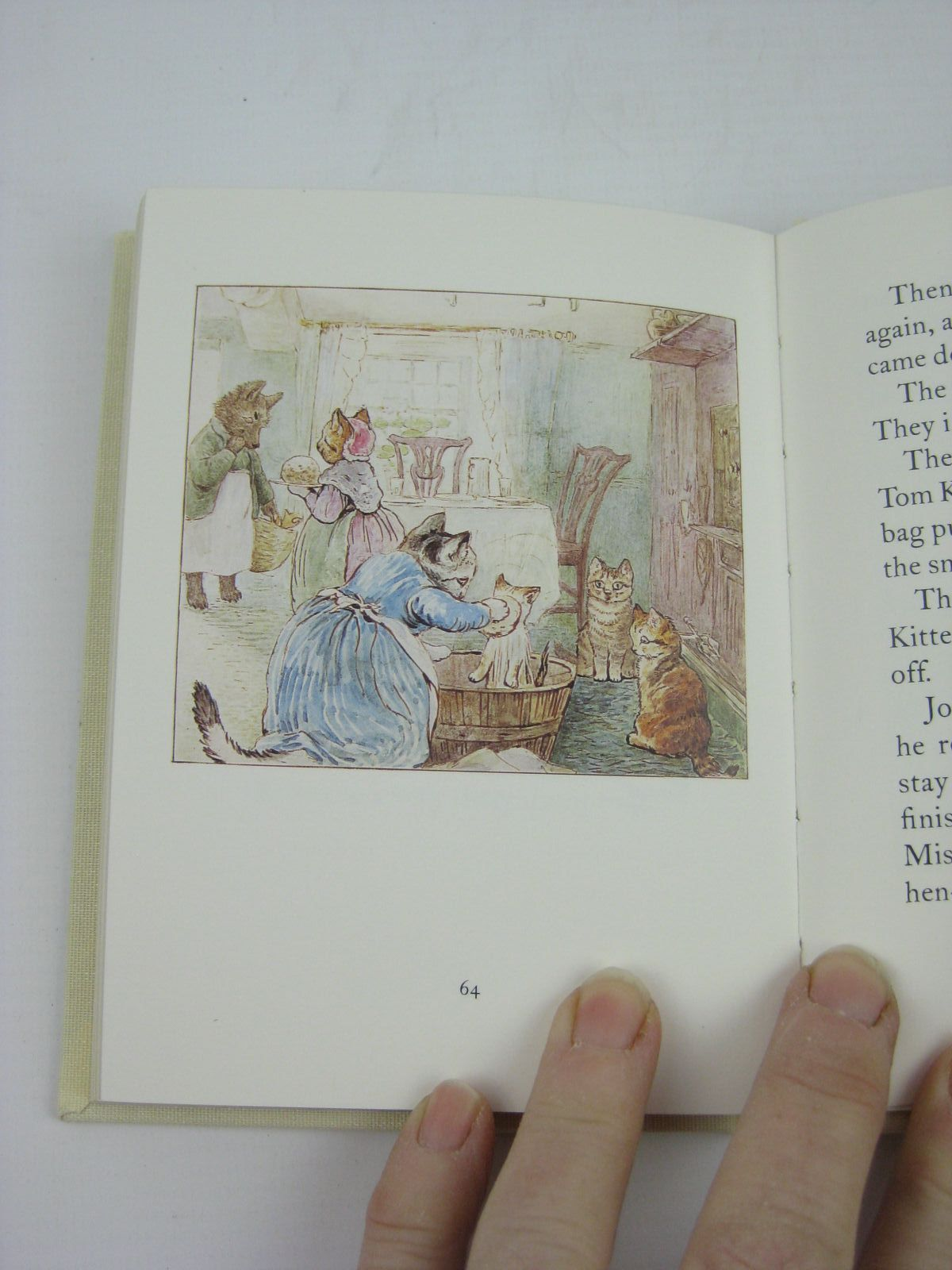 Photo of THE TALE OF SAMUEL WHISKERS OR THE ROLY-POLY PUDDING written by Potter, Beatrix illustrated by Potter, Beatrix published by Frederick Warne, The Penguin Group (STOCK CODE: 1316345)  for sale by Stella & Rose's Books