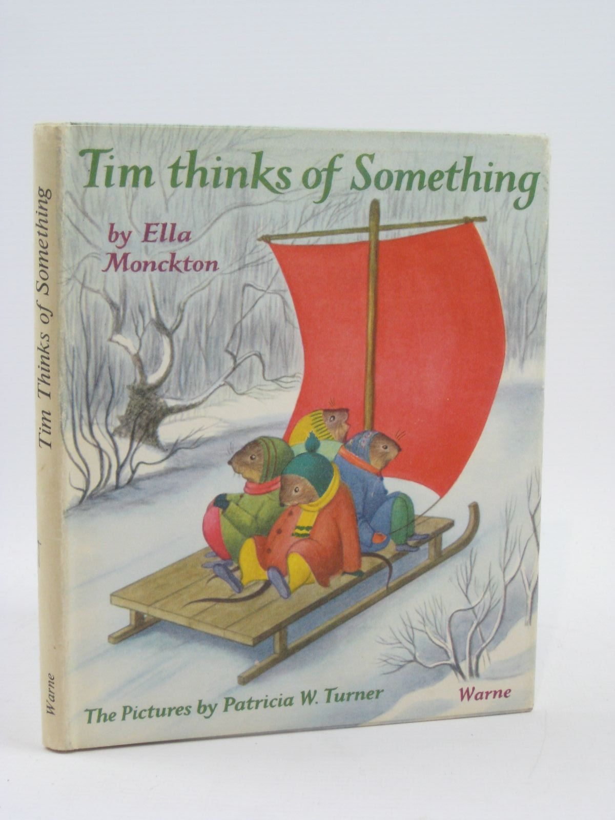 Photo of TIM THINKS OF SOMETHING written by Monckton, Ella illustrated by Turner, Patricia published by F. Warne &  Co. Ltd. (STOCK CODE: 1316403)  for sale by Stella & Rose's Books