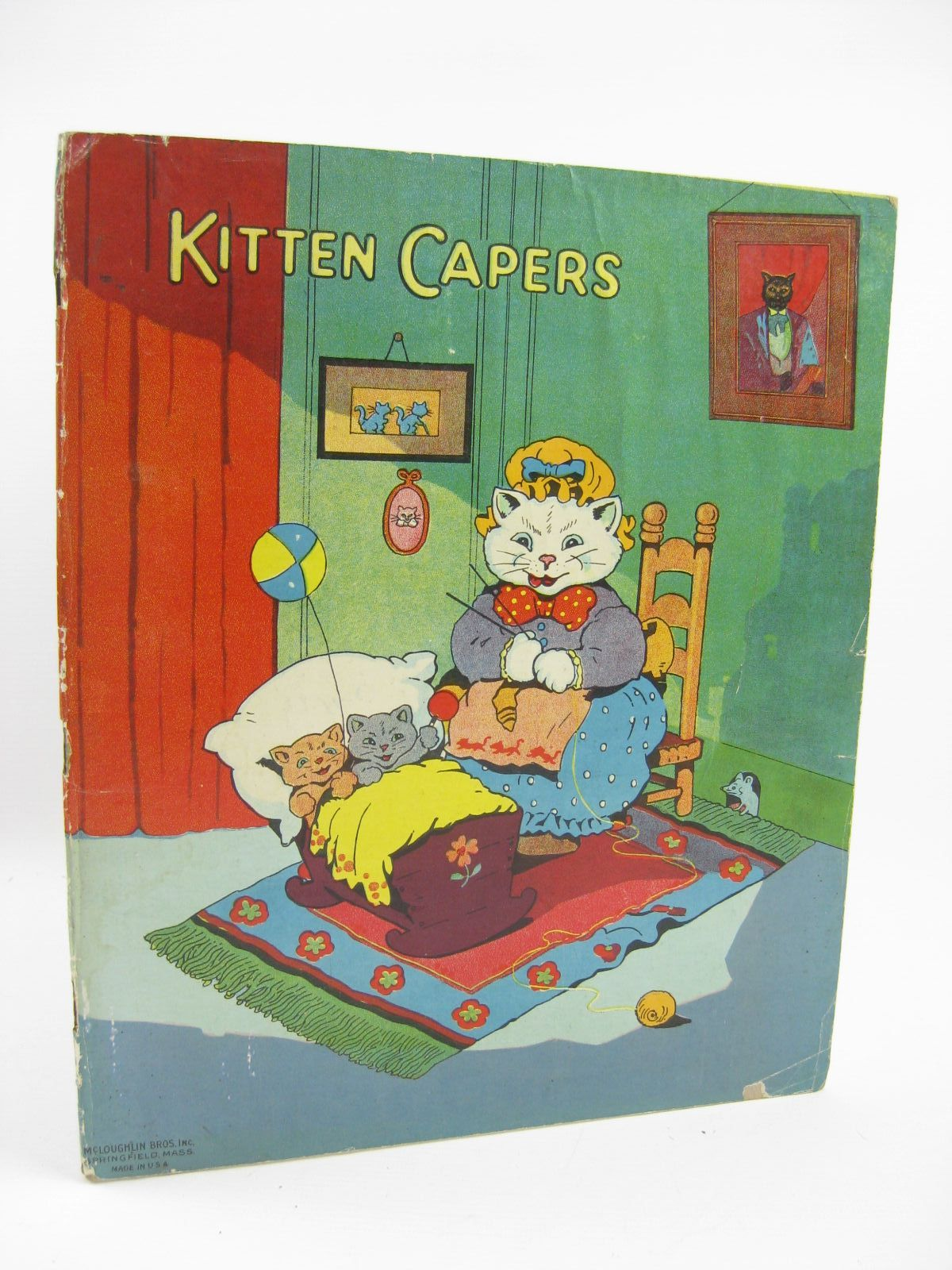 Photo of KITTEN CAPERS illustrated by Wain, Louis<br />et al., published by McLoughlin Bros. (STOCK CODE: 1316413)  for sale by Stella & Rose's Books