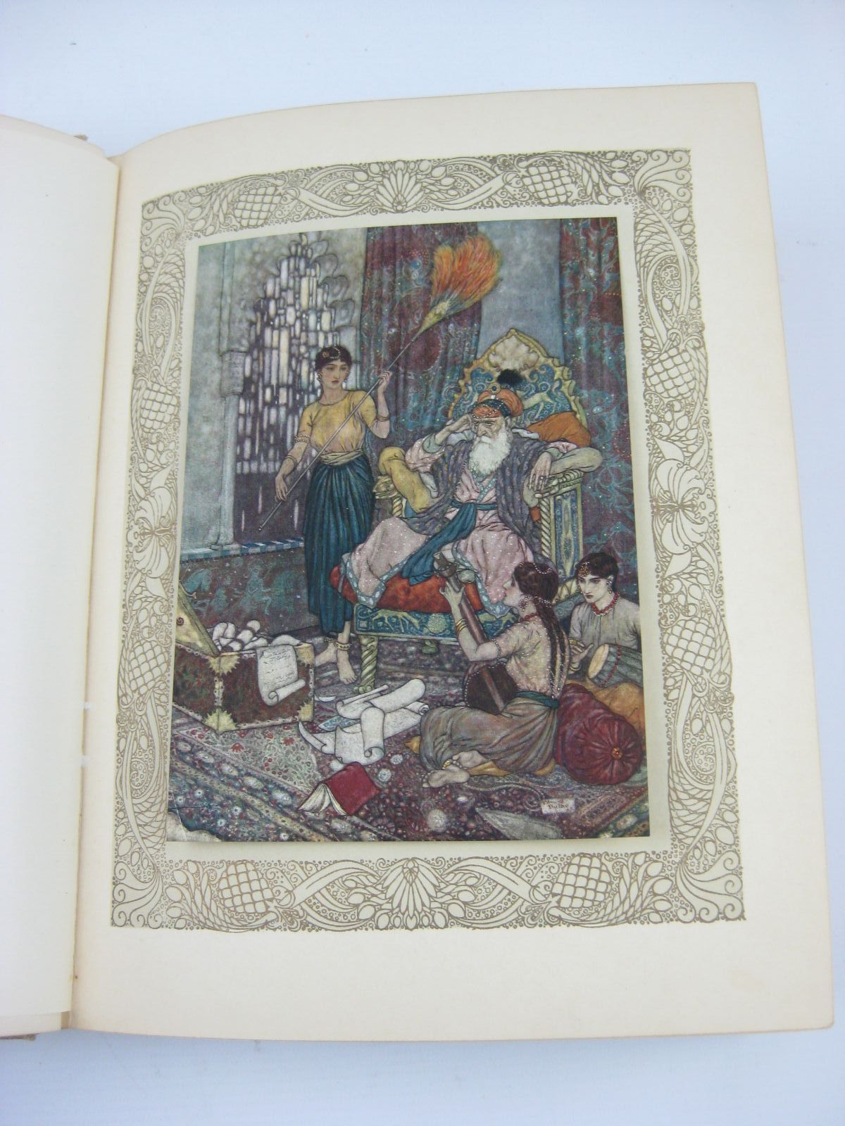Photo of RUBAIYAT OF OMAR KHAYYAM written by Fitzgerald, Edward illustrated by Dulac, Edmund published by Hodder & Stoughton (STOCK CODE: 1316415)  for sale by Stella & Rose's Books