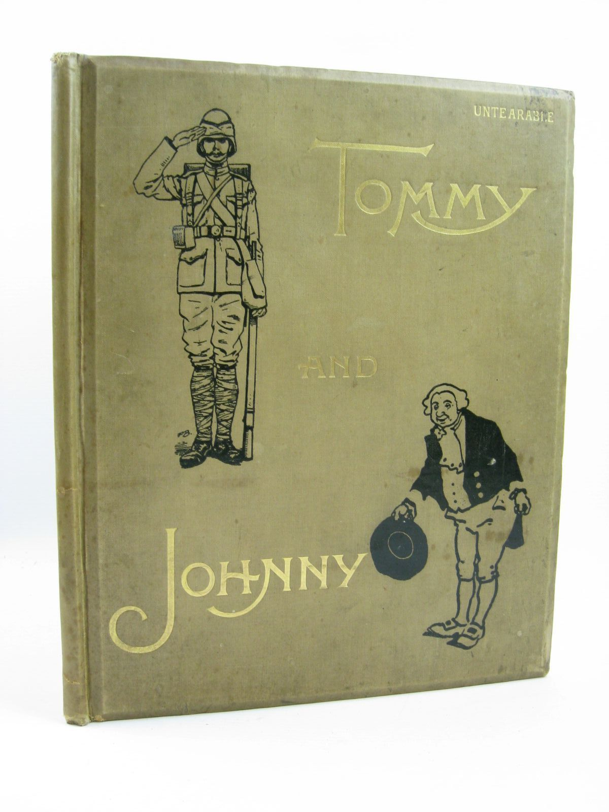 Photo of TOMMY AND JOHNNY written by Cowper, William<br />et al, illustrated by Forrest, A.S.<br />Simkin, Richard<br />Pott, C.L. published by Dean & Son Ltd. (STOCK CODE: 1316423)  for sale by Stella & Rose's Books