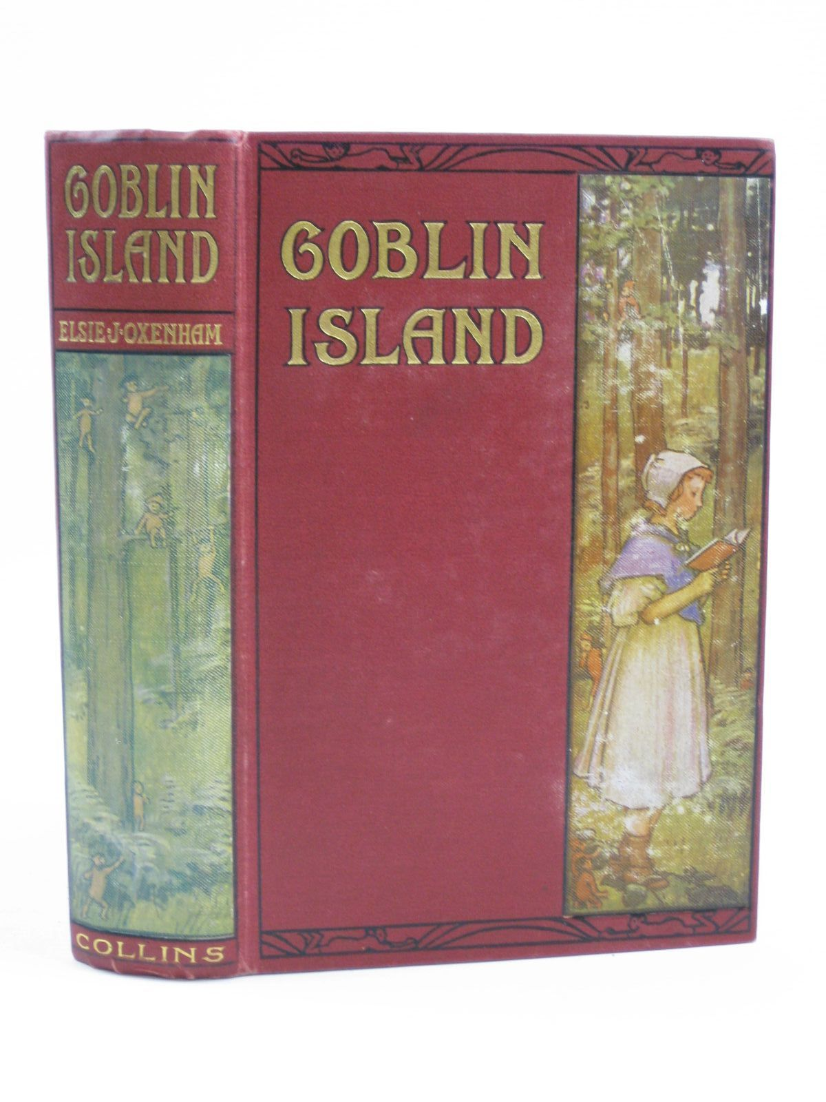 Photo of GOBLIN ISLAND written by Oxenham, Elsie J. illustrated by Robinson, T.H.<br />Dixon, A.A. published by Collins Clear-Type Press (STOCK CODE: 1316476)  for sale by Stella & Rose's Books