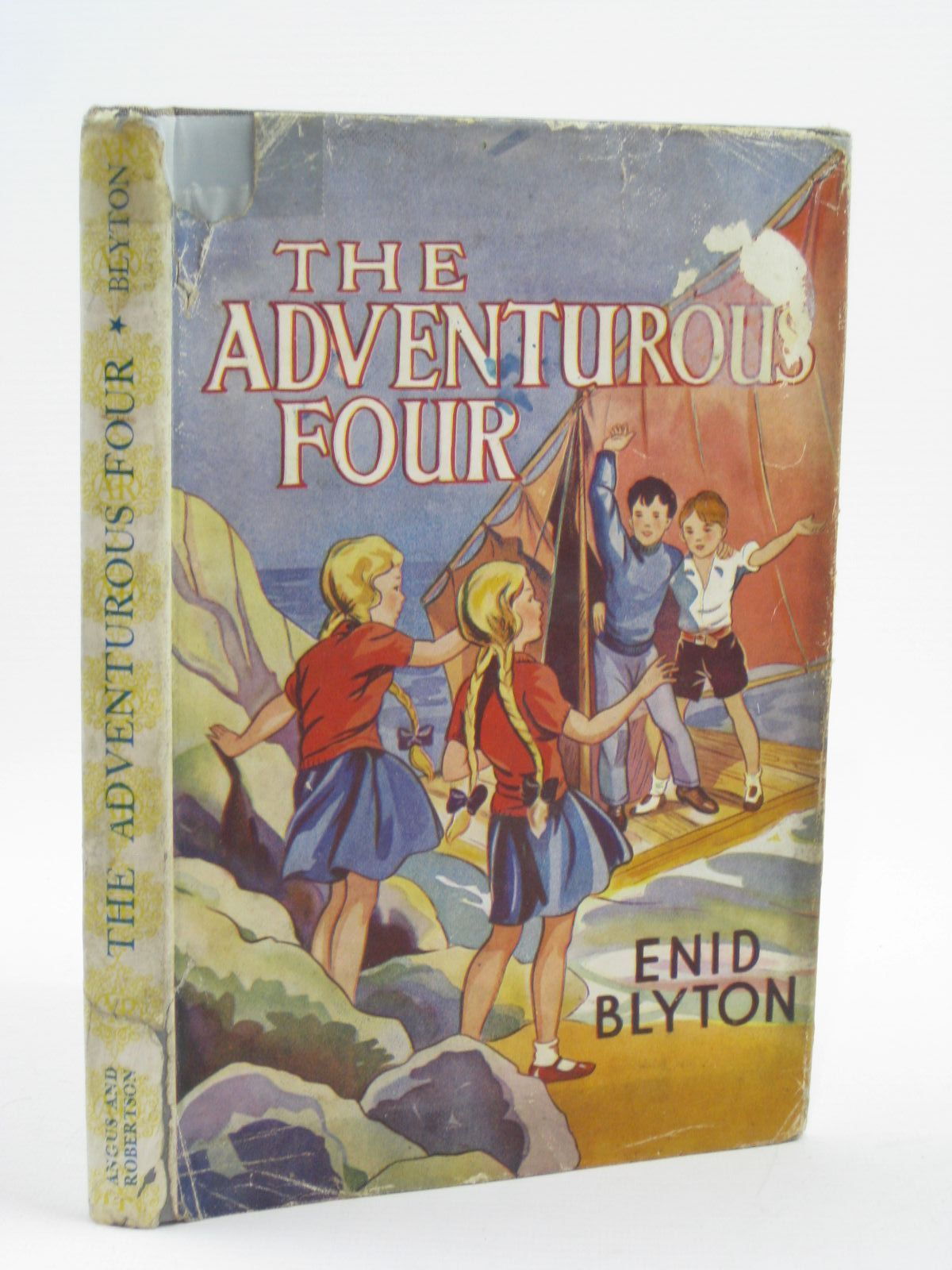 Photo of THE ADVENTUROUS FOUR written by Blyton, Enid illustrated by Davie, E.H. published by Angus & Robertson Ltd. (STOCK CODE: 1316495)  for sale by Stella & Rose's Books