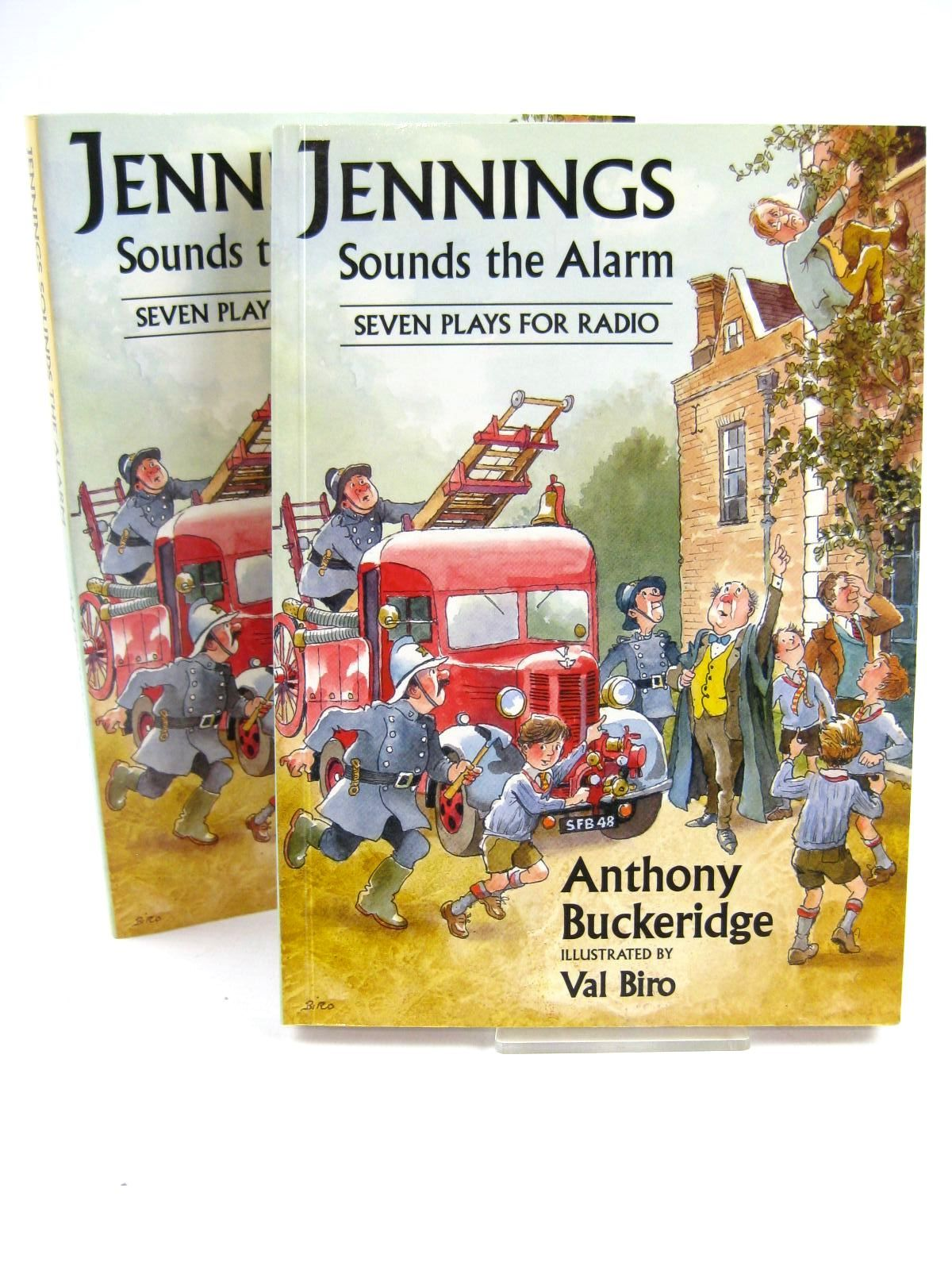 Photo of JENNINGS SOUNDS THE ALARM written by Buckeridge, Anthony illustrated by Biro, Val published by David Schutte (STOCK CODE: 1316642)  for sale by Stella & Rose's Books