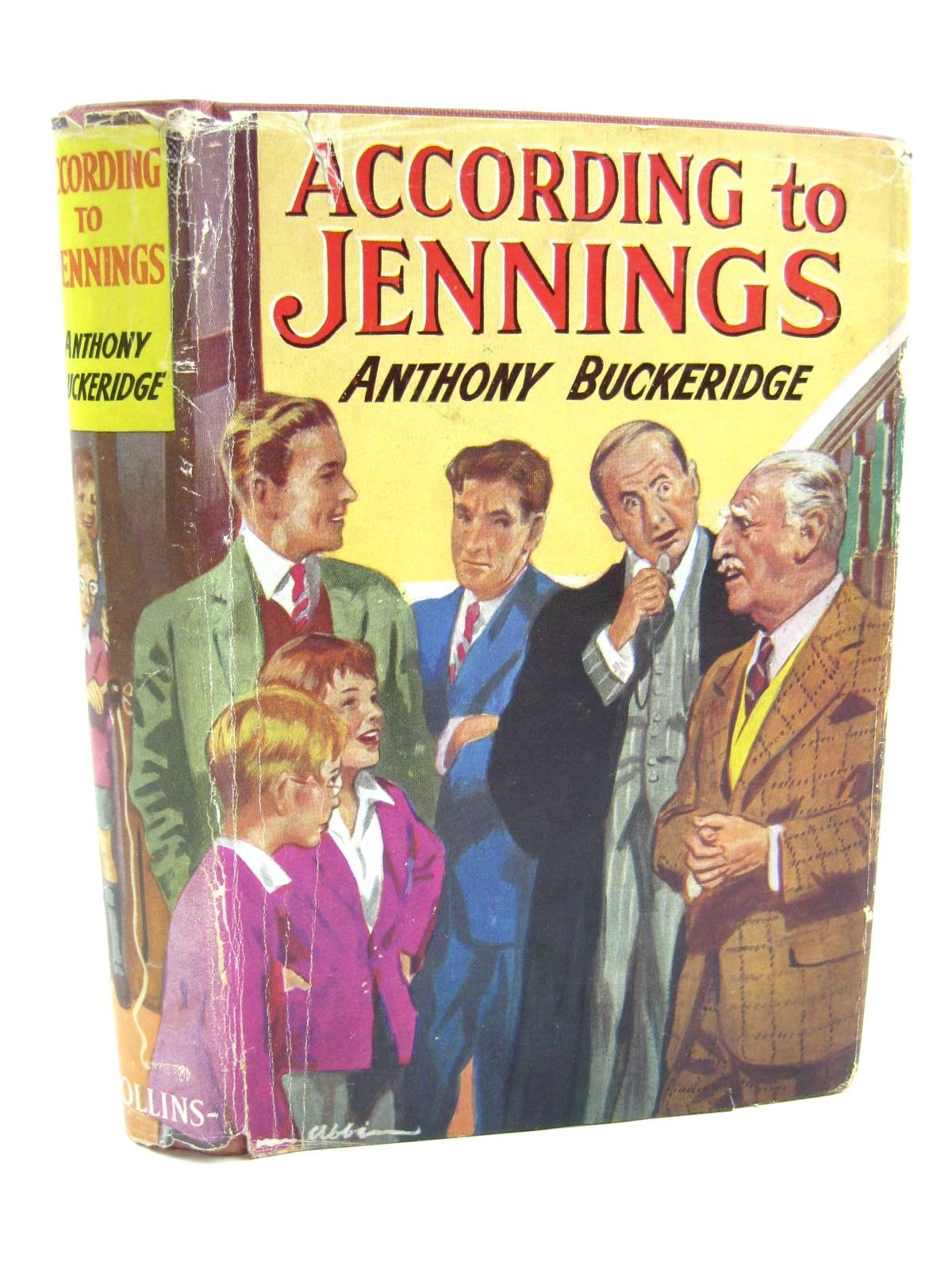 Photo of ACCORDING TO JENNINGS written by Buckeridge, Anthony published by Collins (STOCK CODE: 1316649)  for sale by Stella & Rose's Books