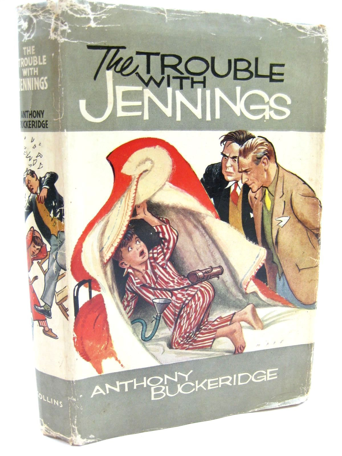 Photo of THE TROUBLE WITH JENNINGS written by Buckeridge, Anthony illustrated by Mays,  published by Collins (STOCK CODE: 1316650)  for sale by Stella & Rose's Books