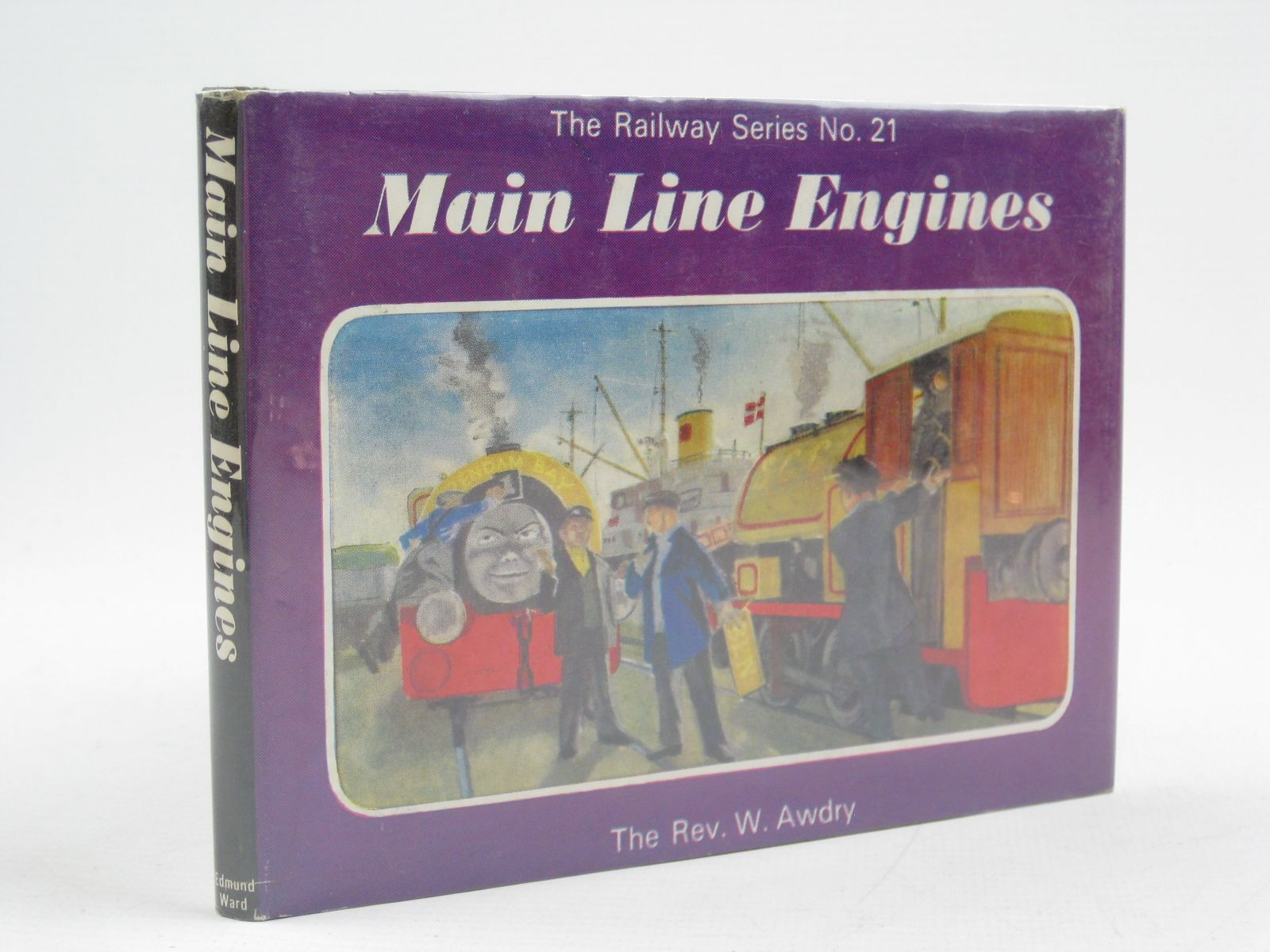 Photo of MAIN LINE ENGINES written by Awdry, Rev. W. illustrated by Edwards, Gunvor<br />Edwards, Peter published by Edmund Ward Ltd. (STOCK CODE: 1316739)  for sale by Stella & Rose's Books