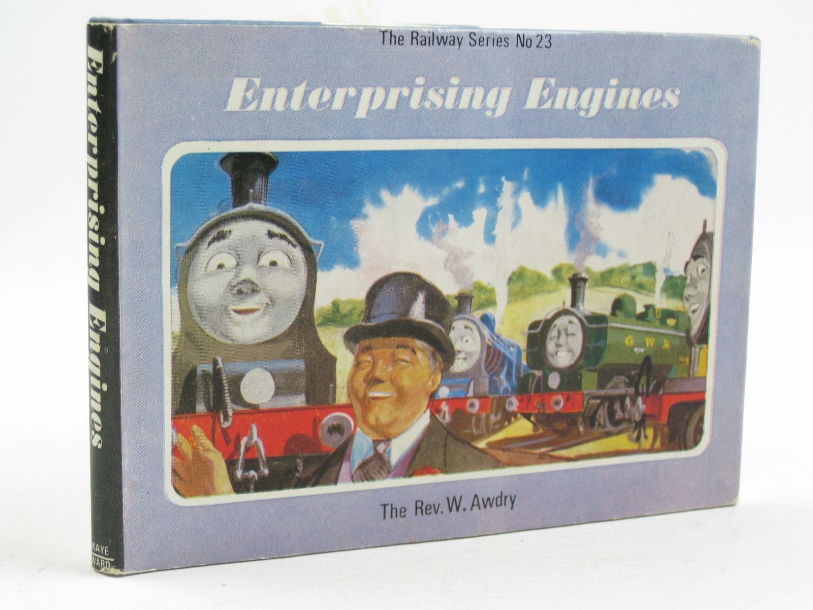 Photo of ENTERPRISING ENGINES written by Awdry, Rev. W. illustrated by Edwards, Gunvor<br />Edwards, Peter published by Kaye & Ward Ltd. (STOCK CODE: 1316753)  for sale by Stella & Rose's Books