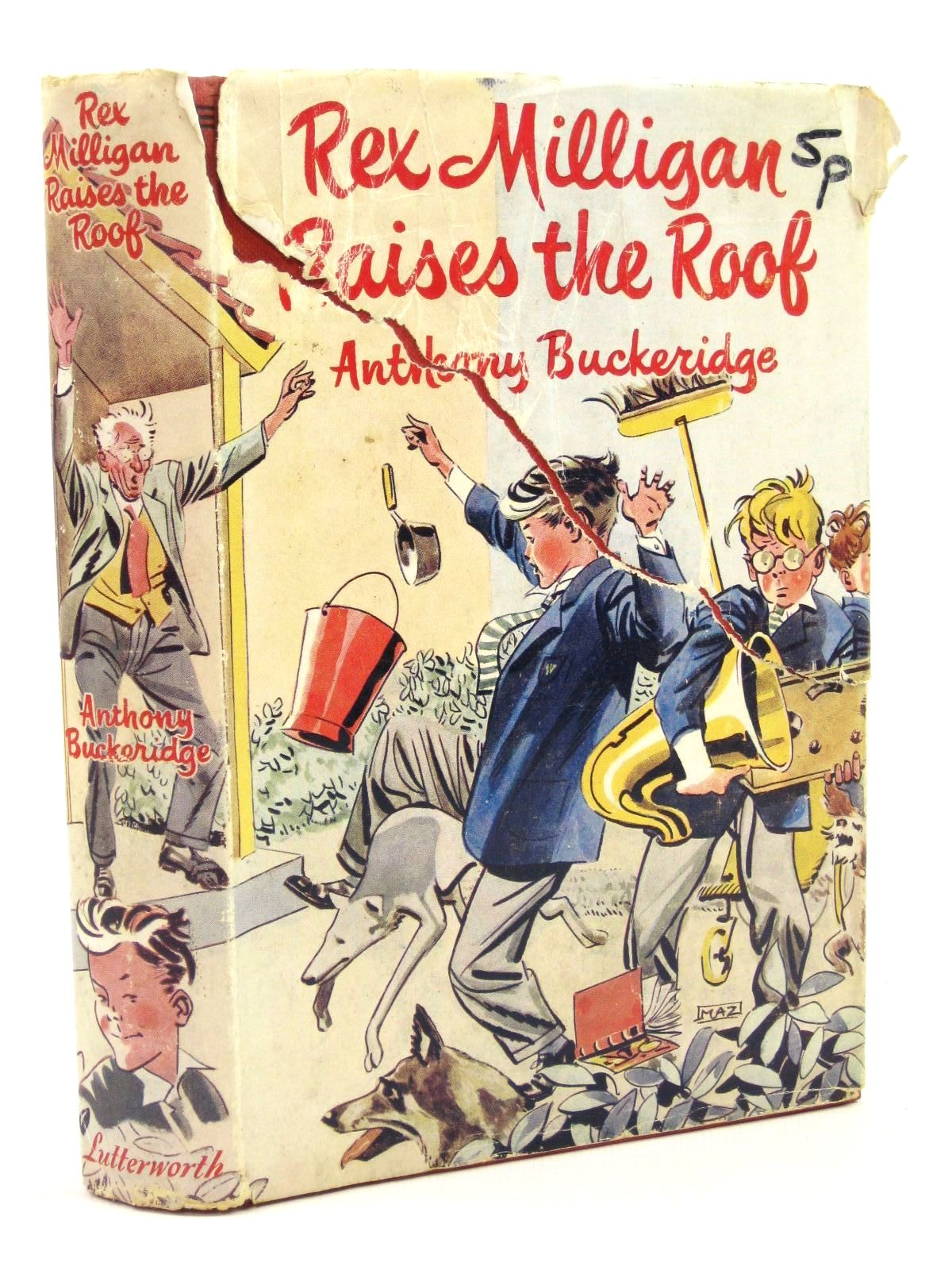 Photo of REX MILLIGAN RAISES THE ROOF written by Buckeridge, Anthony illustrated by Mazure,  published by Lutterworth Press (STOCK CODE: 1316784)  for sale by Stella & Rose's Books