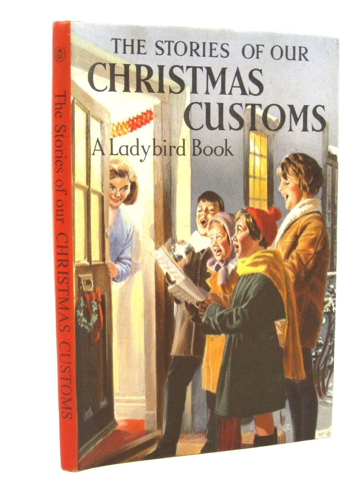 Photo of THE STORIES OF OUR CHRISTMAS CUSTOMS written by Pearson, N.F. illustrated by Hampson, Frank published by Wills & Hepworth Ltd. (STOCK CODE: 1316796)  for sale by Stella & Rose's Books