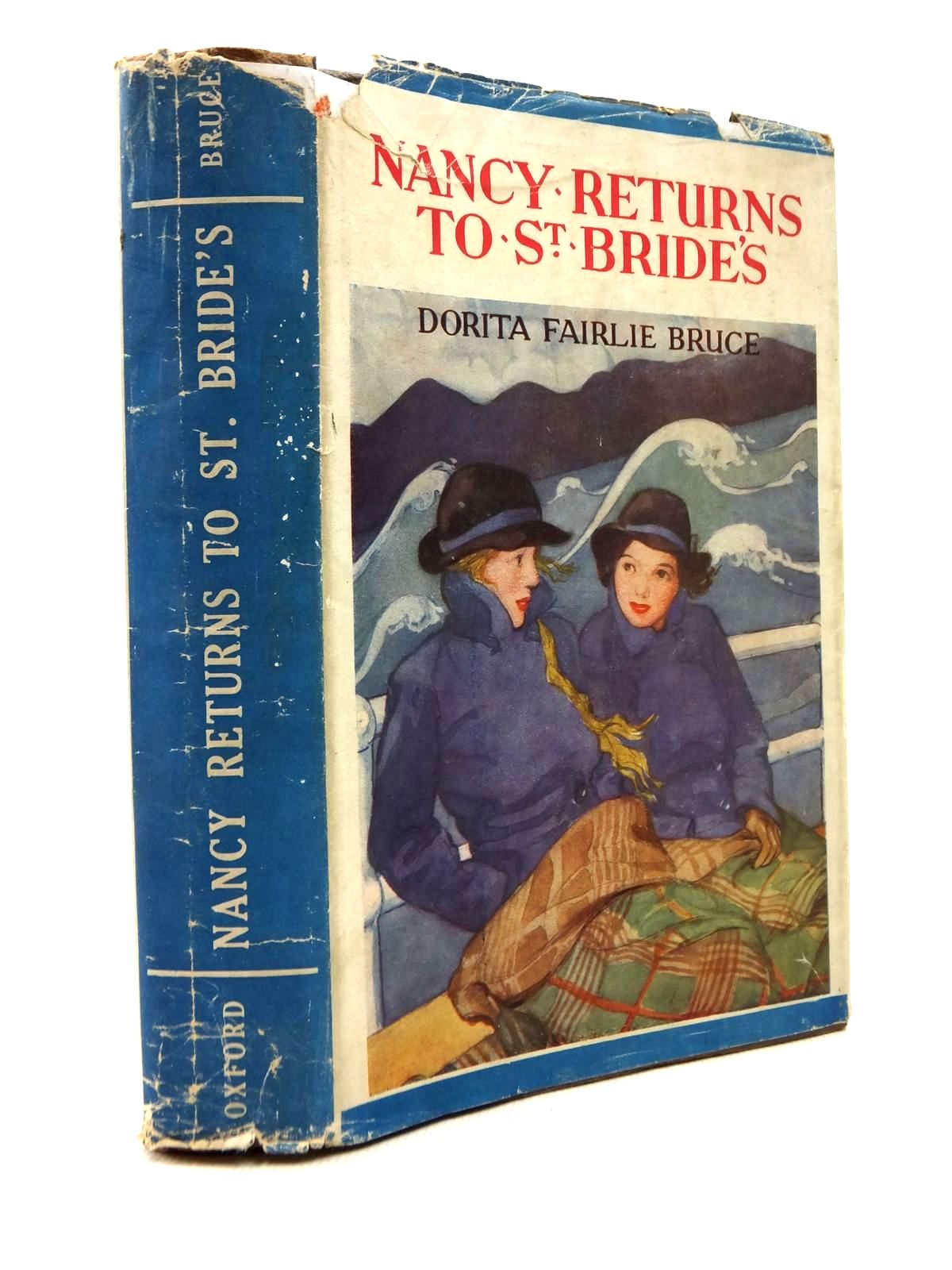 Photo of NANCY RETURNS TO ST. BRIDE'S written by Bruce, Dorita Fairlie illustrated by Johnston, M.D. published by Geoffrey Cumberlege, Oxford University Press (STOCK CODE: 1316849)  for sale by Stella & Rose's Books