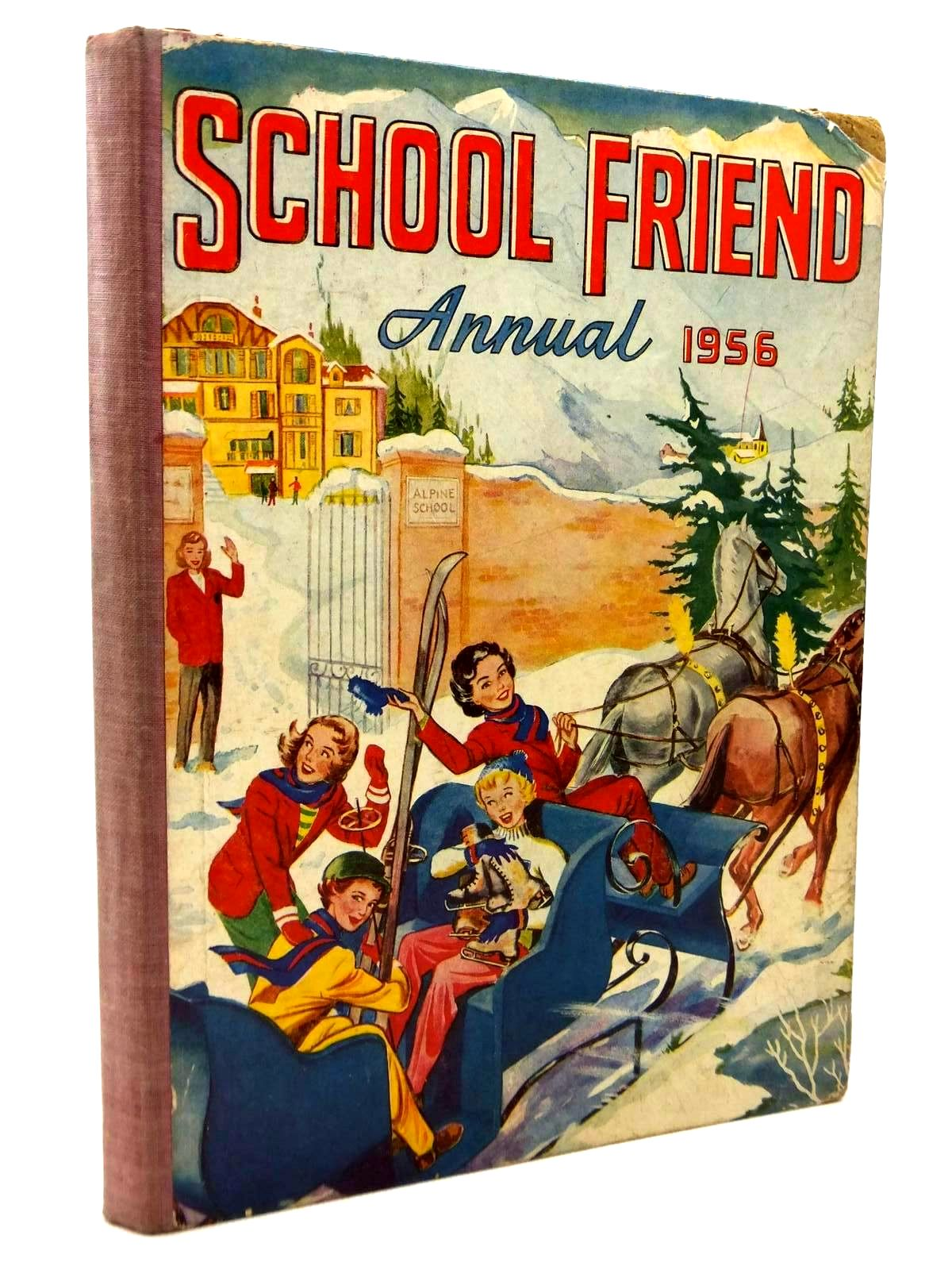 Photo of SCHOOL FRIEND ANNUAL 1956 published by The Amalgamated Press (STOCK CODE: 1316859)  for sale by Stella & Rose's Books