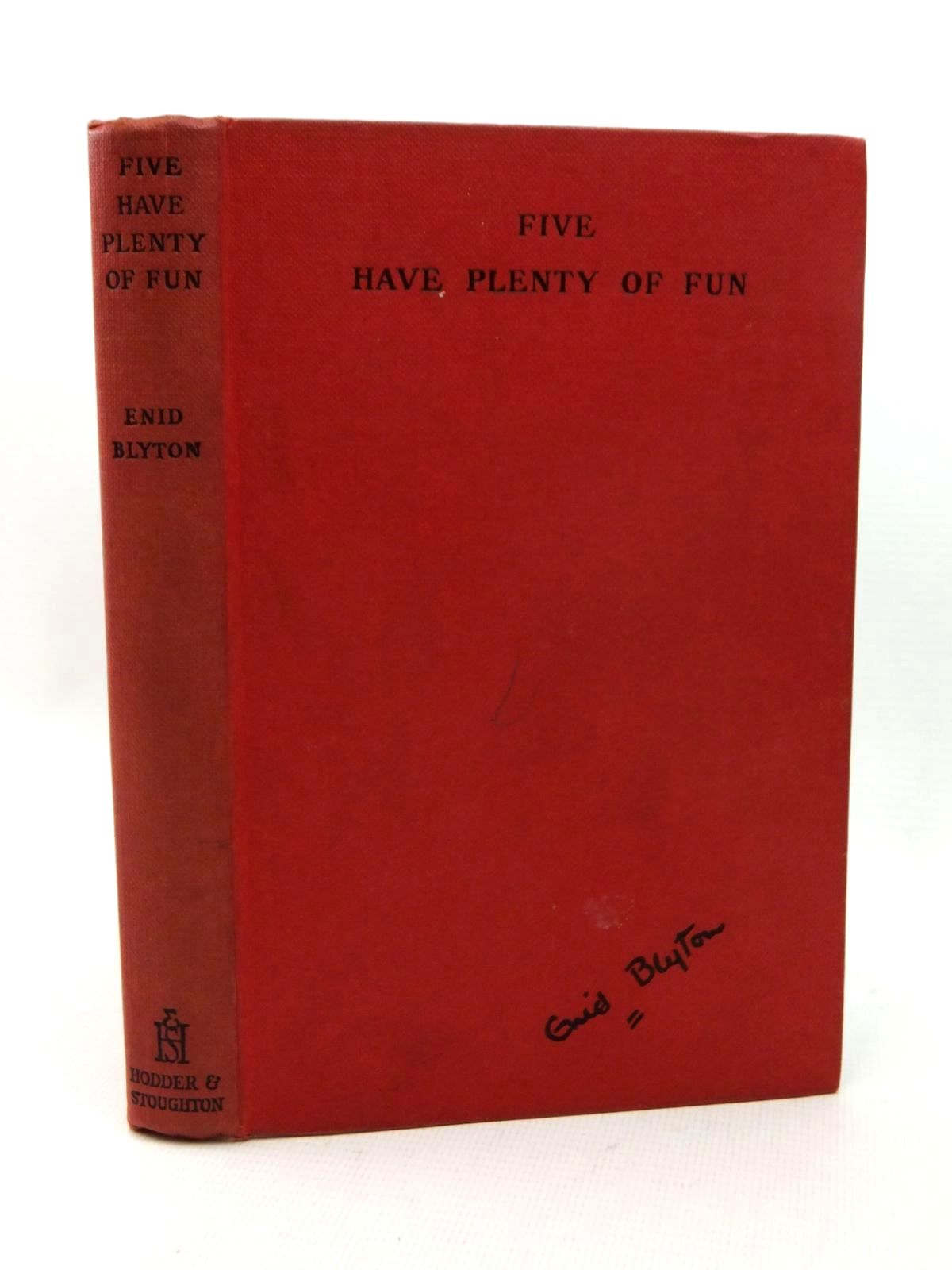Photo of FIVE HAVE PLENTY OF FUN written by Blyton, Enid illustrated by Soper, Eileen published by Hodder & Stoughton (STOCK CODE: 1316864)  for sale by Stella & Rose's Books