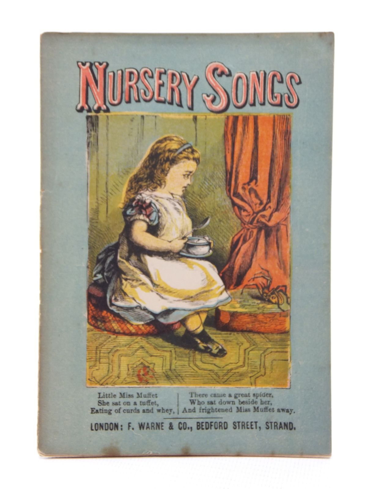 Photo of NURSERY SONGS published by F. Warne & Co. (STOCK CODE: 1316931)  for sale by Stella & Rose's Books
