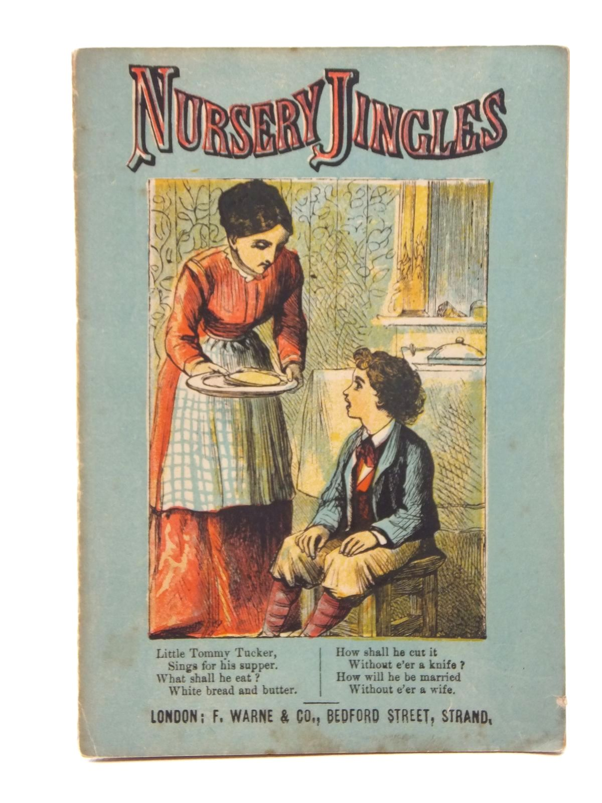 Photo of NURSERY JINGLES published by F. Warne & Co. (STOCK CODE: 1316933)  for sale by Stella & Rose's Books