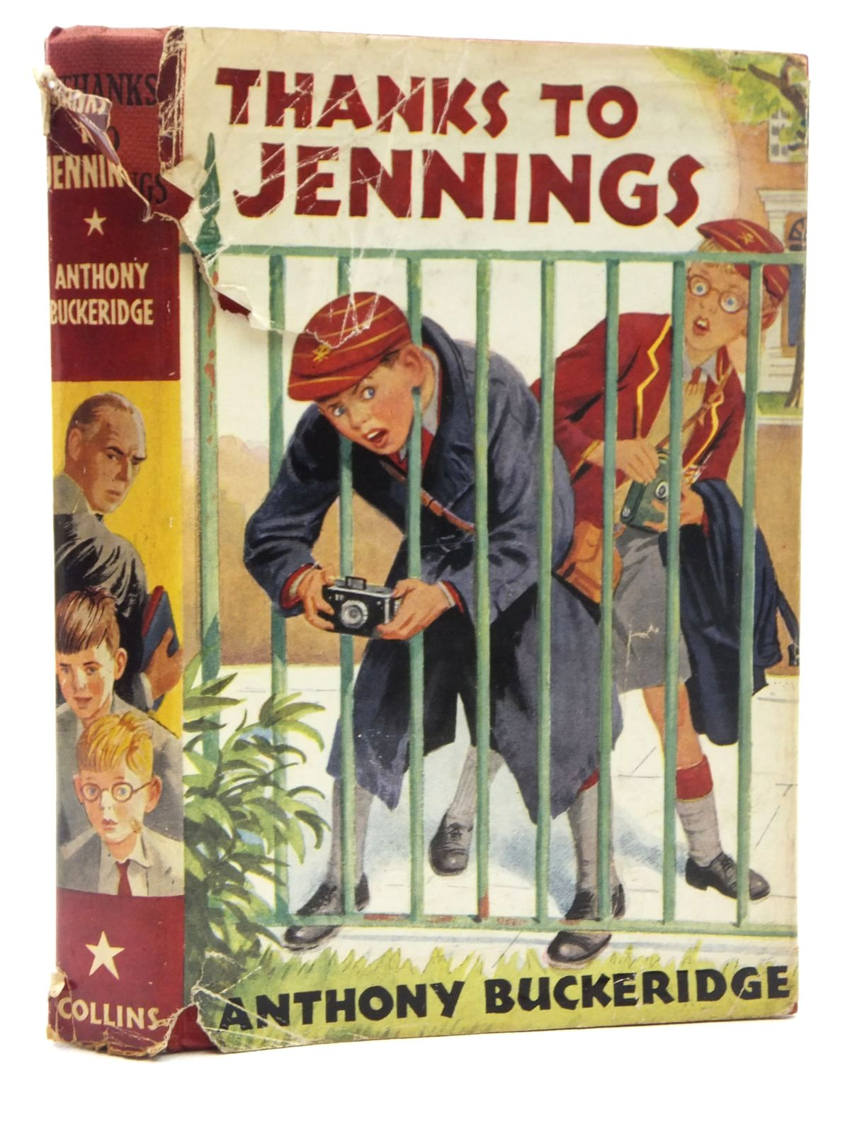Photo of THANKS TO JENNINGS written by Buckeridge, Anthony published by Collins (STOCK CODE: 1316980)  for sale by Stella & Rose's Books