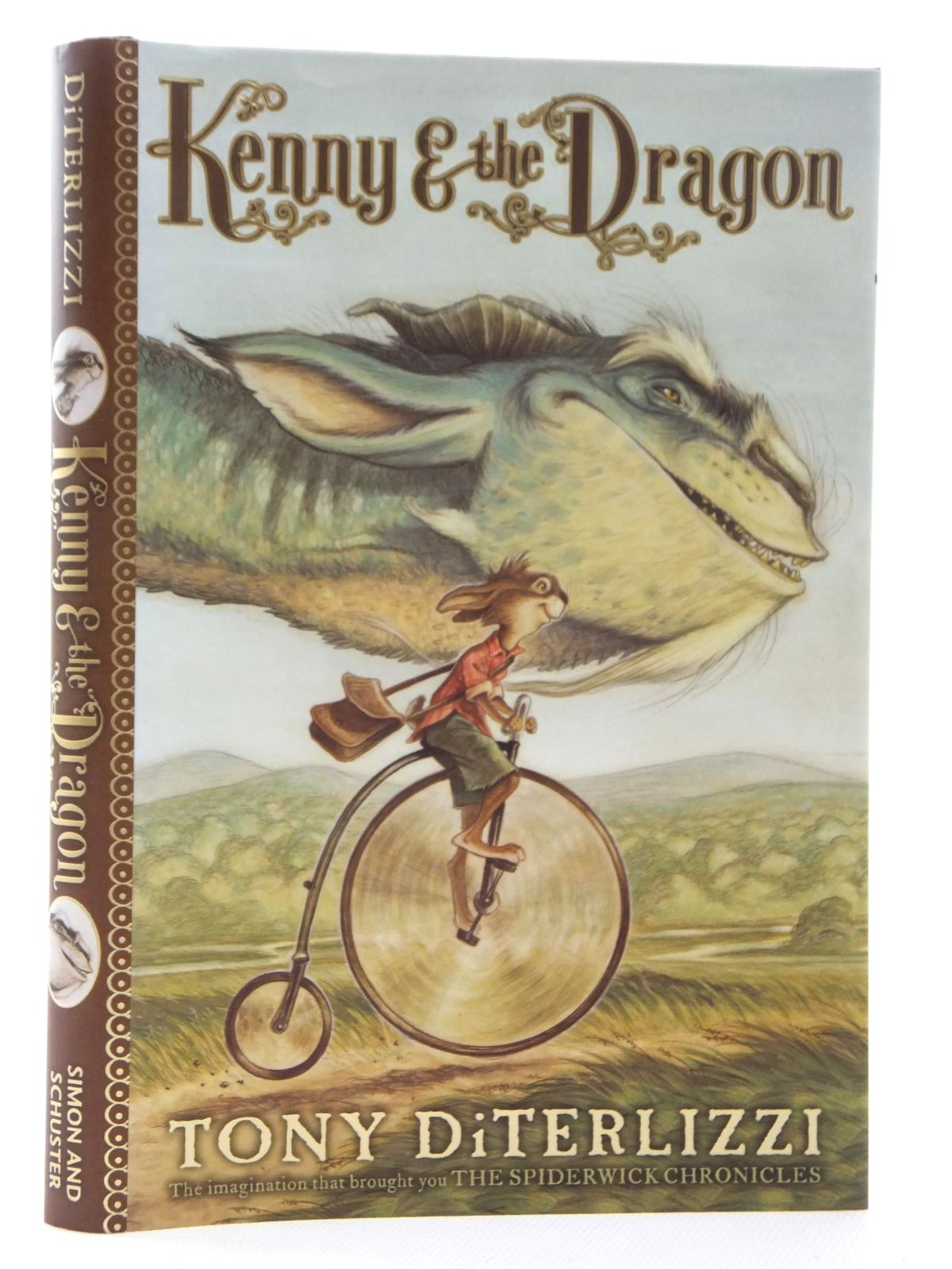 Photo of KENNY & THE DRAGON written by Diterlizzi, Tony illustrated by Diterlizzi, Tony published by Simon & Schuster (STOCK CODE: 1316985)  for sale by Stella & Rose's Books