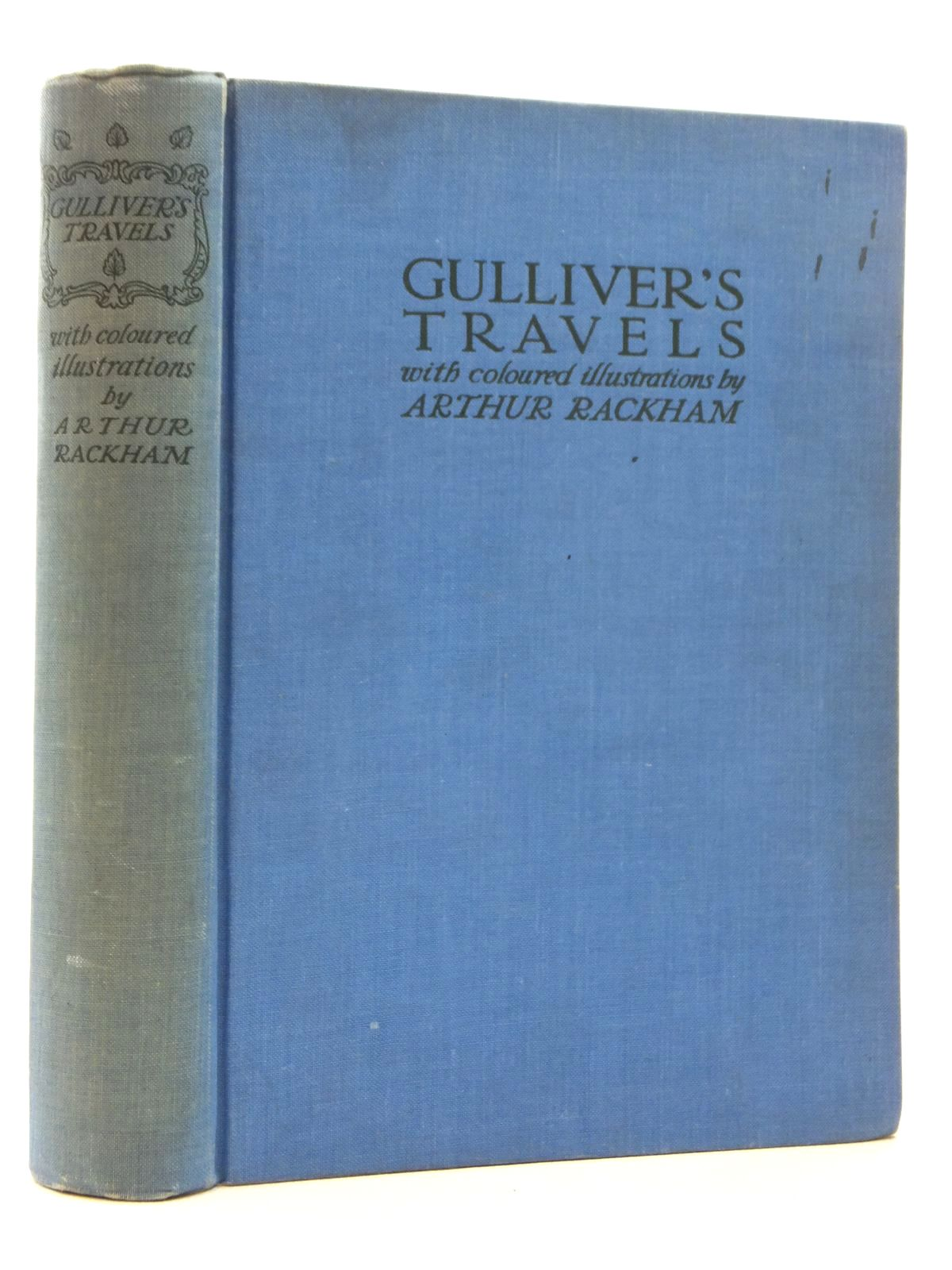 Photo of GULLIVER'S TRAVELS written by Swift, Jonathan illustrated by Rackham, Arthur published by The Temple Press (STOCK CODE: 1317019)  for sale by Stella & Rose's Books