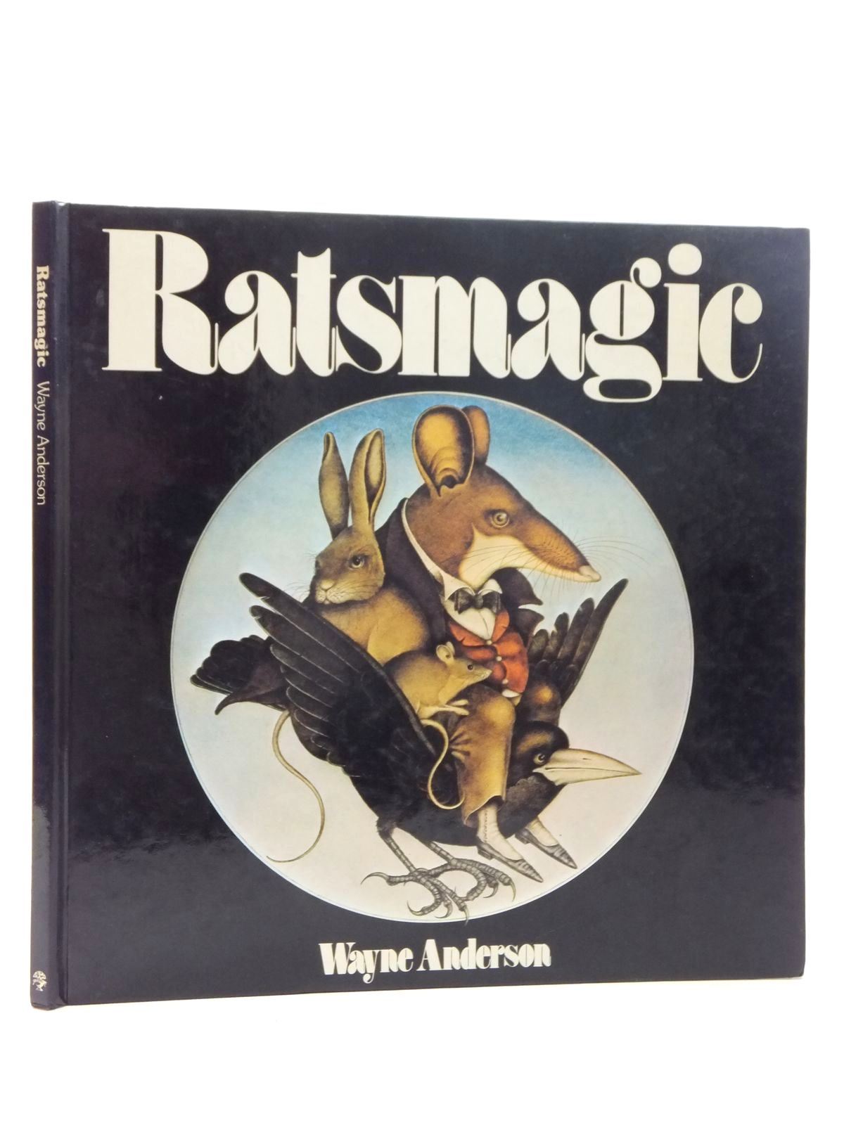 Photo of RATSMAGIC written by Logue, Christopher illustrated by Anderson, Wayne published by Jonathan Cape (STOCK CODE: 1317042)  for sale by Stella & Rose's Books