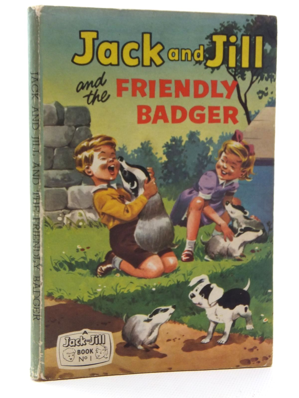 Photo of JACK AND JILL AND THE FRIENDLY BADGER published by Fleetway Publications Ltd. (STOCK CODE: 1317112)  for sale by Stella & Rose's Books
