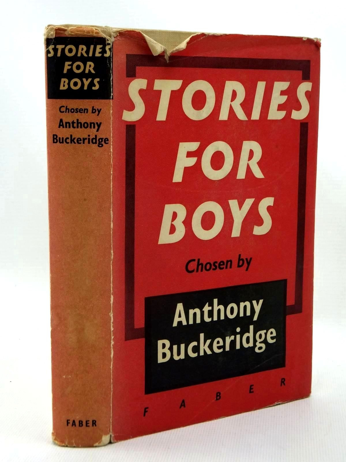 Photo of STORIES FOR BOYS written by Buckeridge, Anthony published by Faber & Faber Ltd. (STOCK CODE: 1317120)  for sale by Stella & Rose's Books