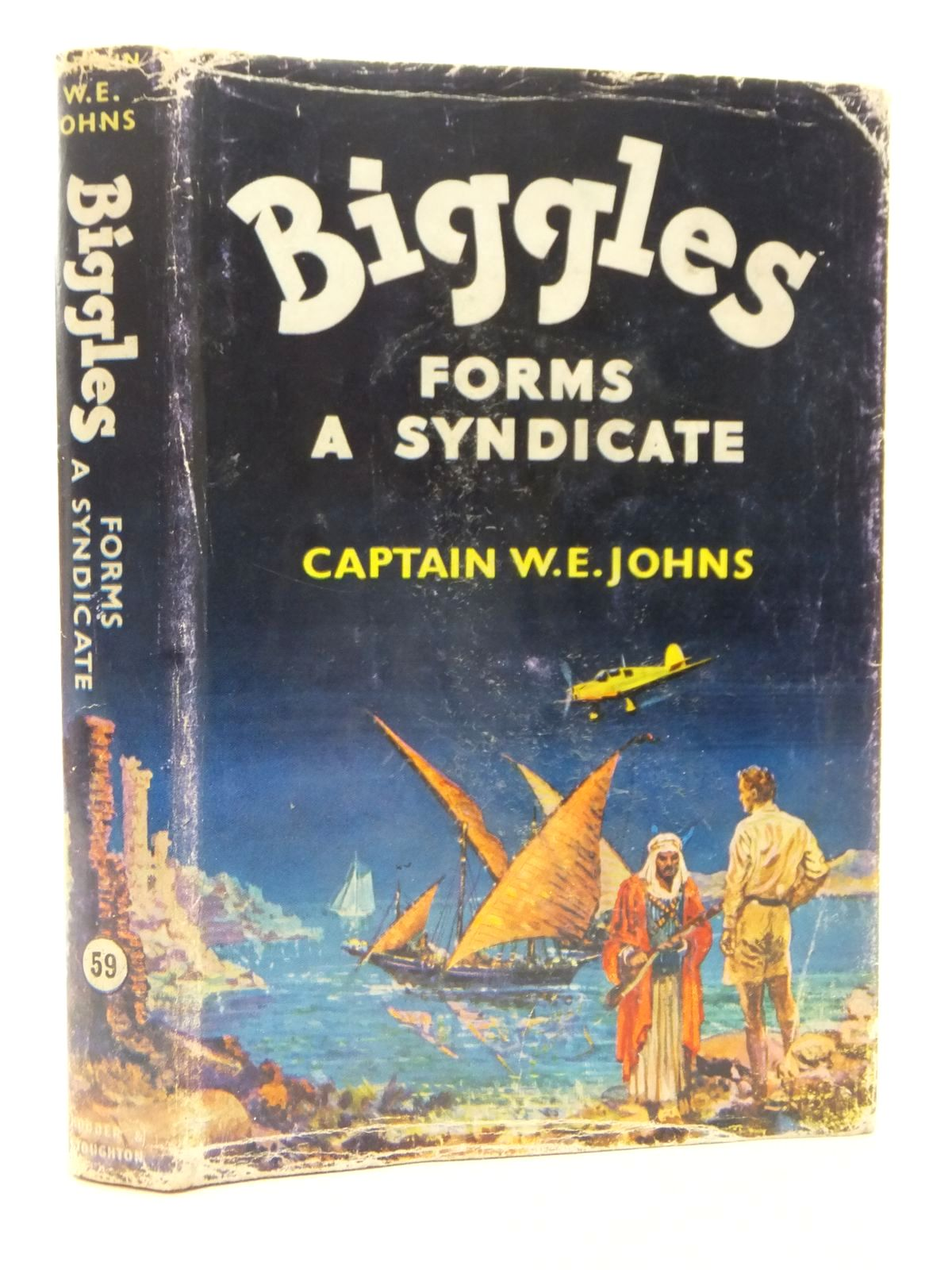 Photo of BIGGLES FORMS A SYNDICATE written by Johns, W.E. illustrated by Stead,  published by Hodder & Stoughton (STOCK CODE: 1317185)  for sale by Stella & Rose's Books