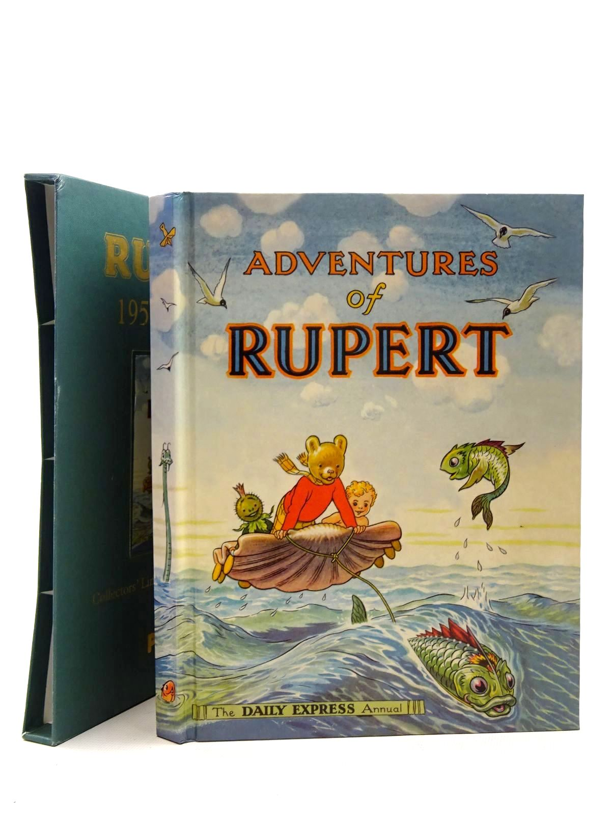 Photo of RUPERT ANNUAL 1950 (FACSIMILE) - ADVENTURES OF RUPERT written by Bestall, Alfred illustrated by Bestall, Alfred published by Pedigree Books Limited (STOCK CODE: 1317203)  for sale by Stella & Rose's Books