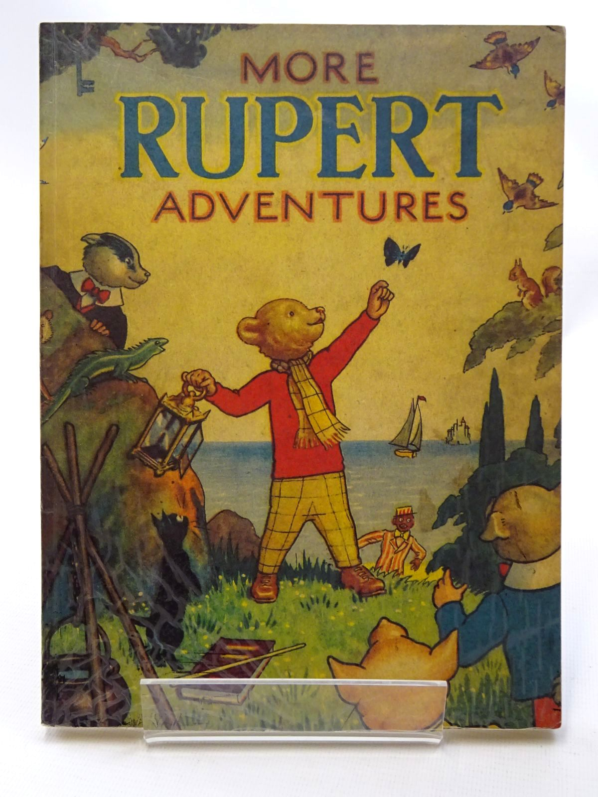 Photo of RUPERT ANNUAL 1943 (FACSIMILE) - MORE RUPERT ADVENTURES written by Bestall, Alfred illustrated by Bestall, Alfred published by Pedigree Books Limited (STOCK CODE: 1317213)  for sale by Stella & Rose's Books