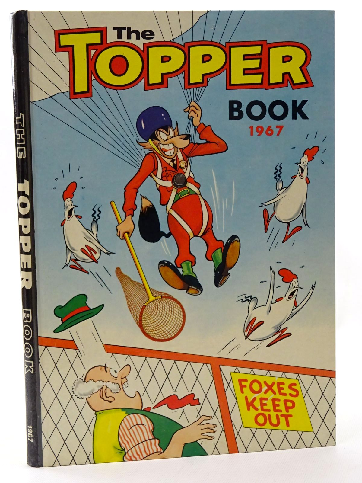 Photo of THE TOPPER BOOK 1967 published by D.C. Thomson & Co Ltd. (STOCK CODE: 1317226)  for sale by Stella & Rose's Books