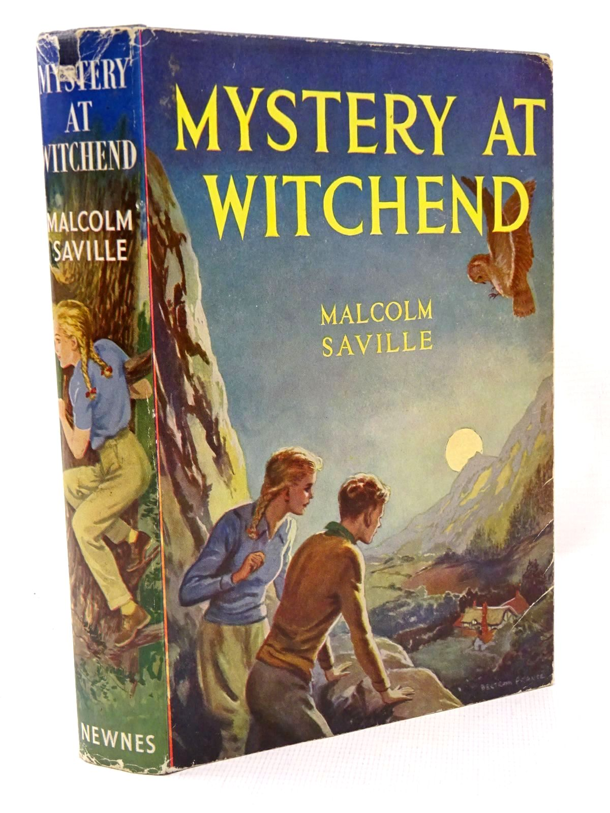 Photo of MYSTERY AT WITCHEND written by Saville, Malcolm illustrated by Prance, Bertram published by George Newnes Limited (STOCK CODE: 1317255)  for sale by Stella & Rose's Books
