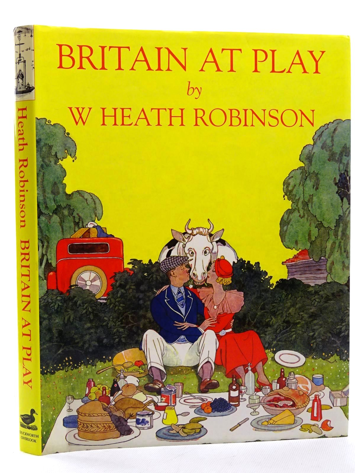 Photo of BRITAIN AT PLAY written by Beare, Geoffrey illustrated by Robinson, W. Heath published by Duckworth Overlook (STOCK CODE: 1317271)  for sale by Stella & Rose's Books