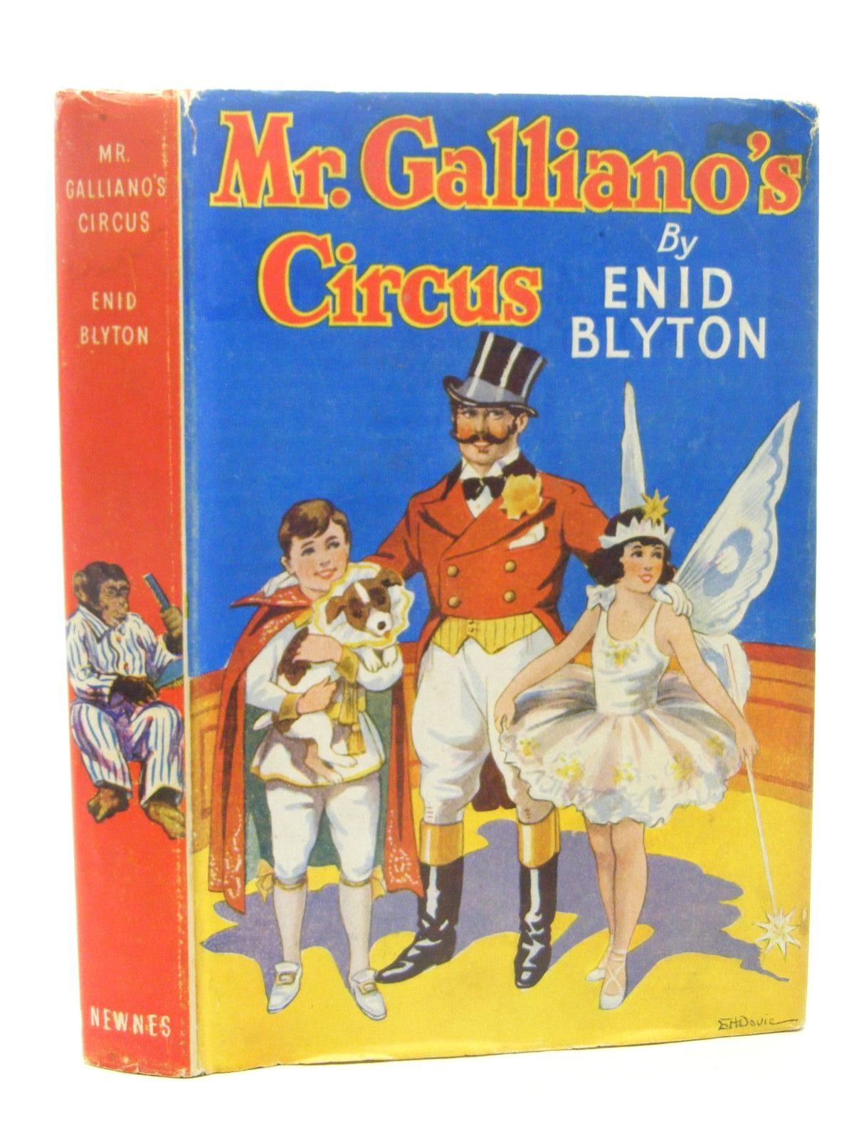 Photo of MR. GALLIANO'S CIRCUS written by Blyton, Enid illustrated by Davie, E.H. published by George Newnes Ltd. (STOCK CODE: 1317279)  for sale by Stella & Rose's Books