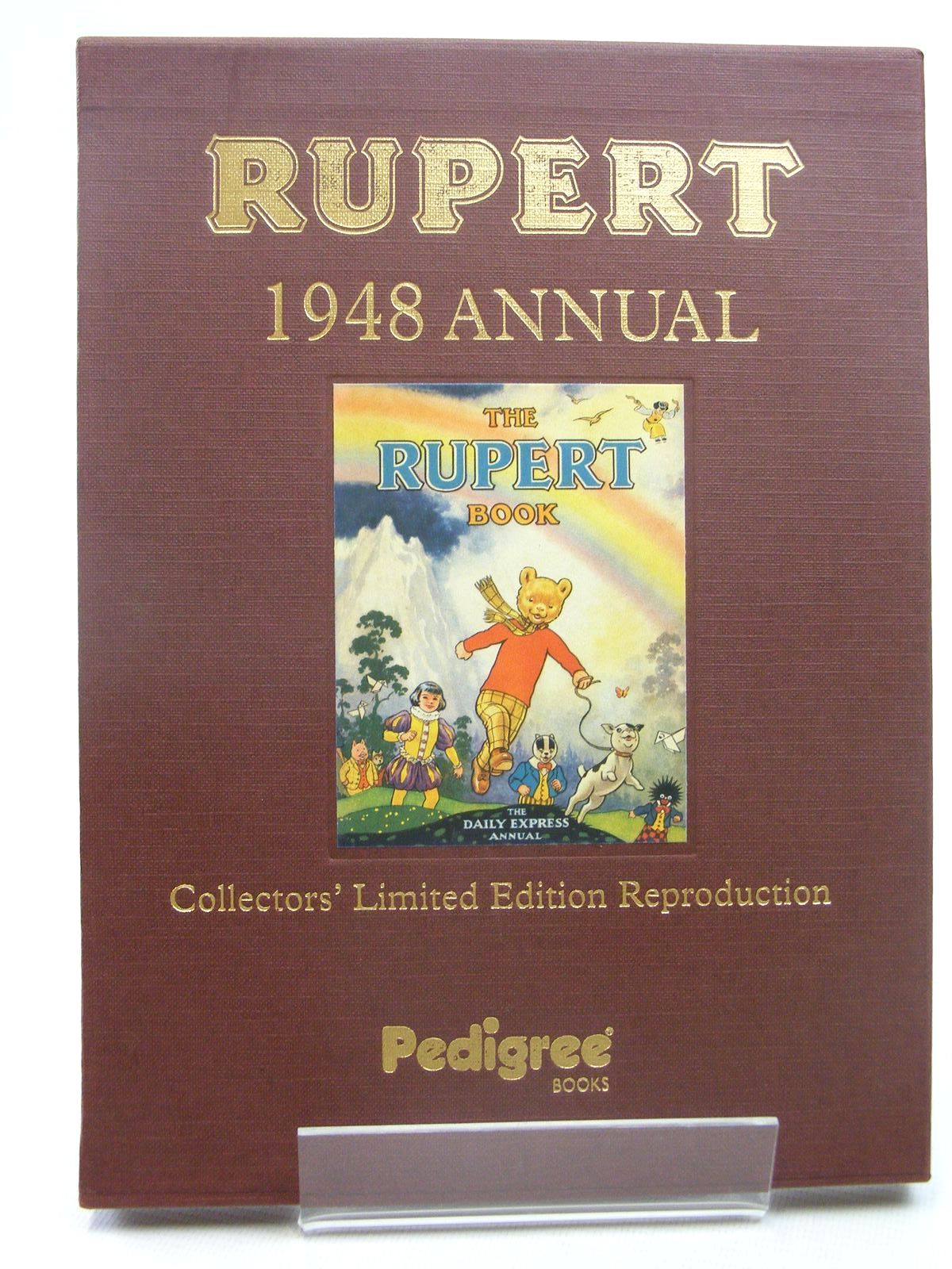 Photo of RUPERT ANNUAL 1948 (FACSIMILE) - THE RUPERT BOOK written by Bestall, Alfred illustrated by Bestall, Alfred published by Pedigree Books Limited (STOCK CODE: 1317285)  for sale by Stella & Rose's Books