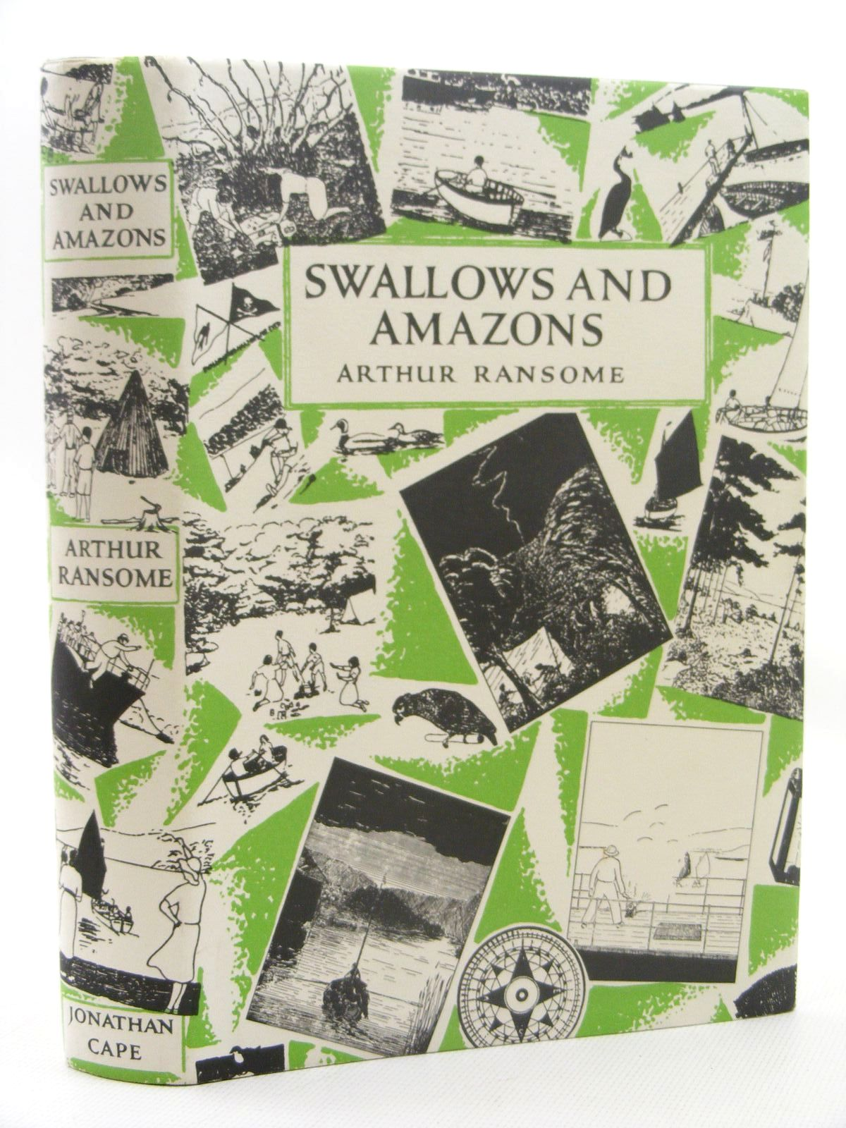 Photo of SWALLOWS AND AMAZONS written by Ransome, Arthur illustrated by Ransome, Arthur published by Jonathan Cape (STOCK CODE: 1317299)  for sale by Stella & Rose's Books