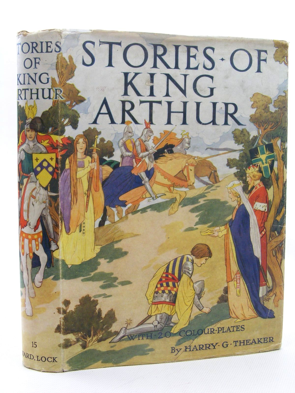 Photo of STORIES OF KING ARTHUR written by Winder, Blanche illustrated by Theaker, Harry published by Ward Lock & Co Ltd. (STOCK CODE: 1317306)  for sale by Stella & Rose's Books