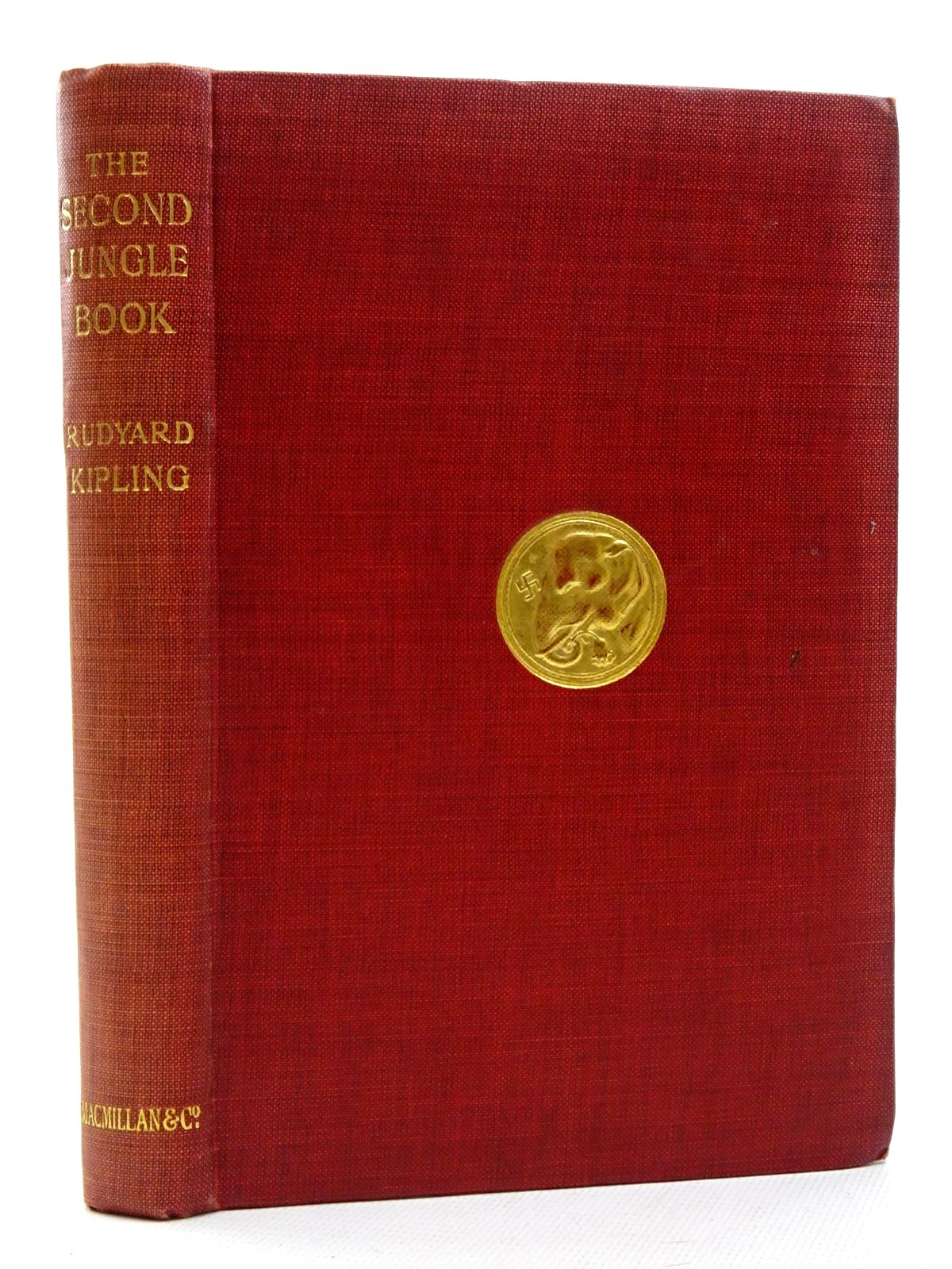 Photo of THE SECOND JUNGLE BOOK written by Kipling, Rudyard illustrated by Kipling, J. Lockwood published by Macmillan & Co. Ltd. (STOCK CODE: 1317336)  for sale by Stella & Rose's Books