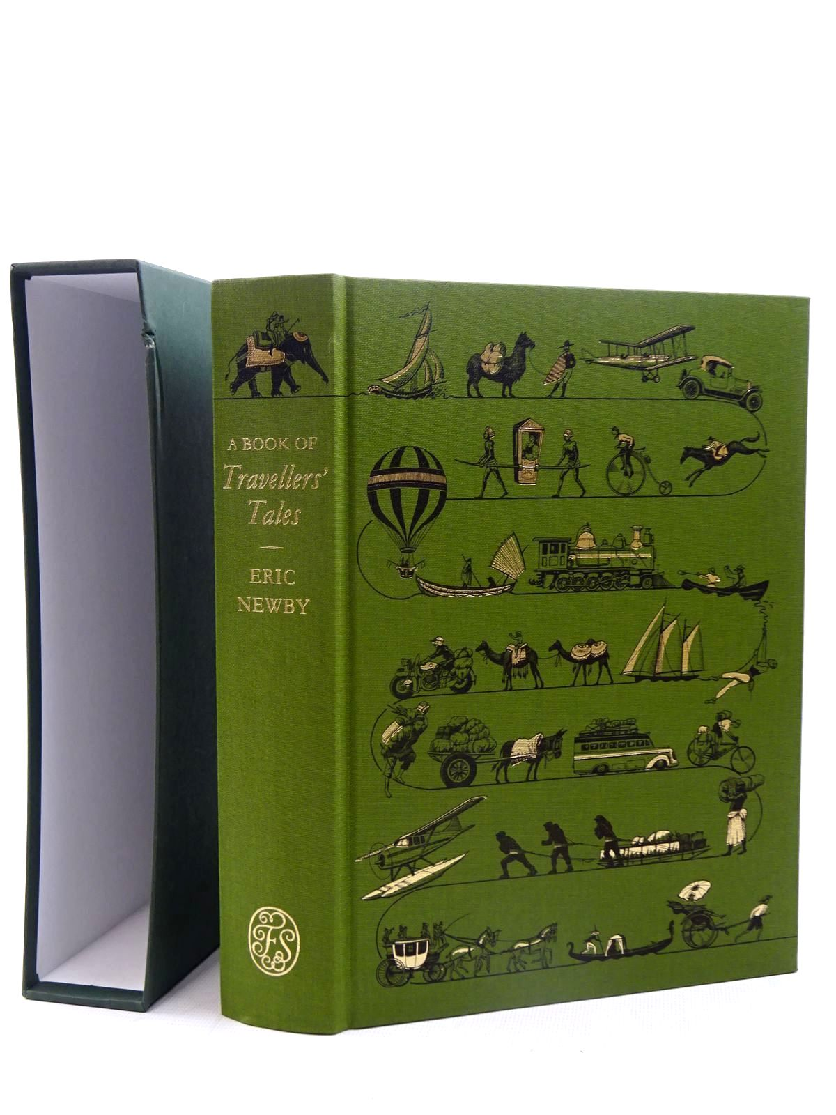 Photo of A BOOK OF TRAVELLER'S TALES written by Newby, Eric<br />et al, published by Folio Society (STOCK CODE: 1317381)  for sale by Stella & Rose's Books
