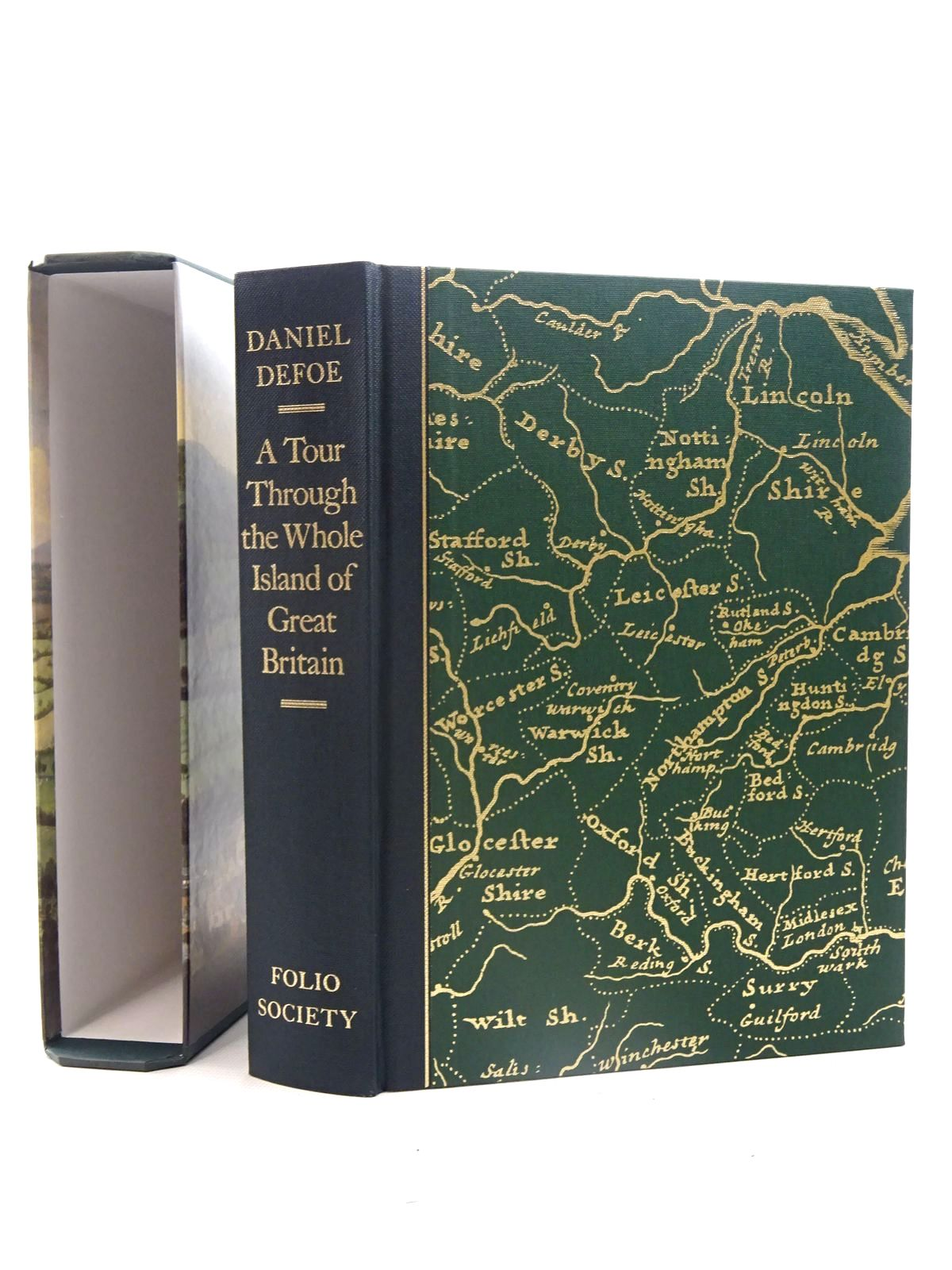Photo of A TOUR THROUGH THE WHOLE ISLAND OF GREAT BRITAIN written by Defoe, Daniel published by Folio Society (STOCK CODE: 1317390)  for sale by Stella & Rose's Books