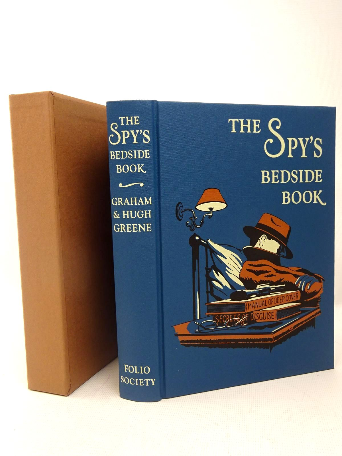 Photo of THE SPY'S BEDSIDE BOOK written by Greene, Graham<br />Greene, Hugh<br />Rimington, Stella illustrated by Hardcastle, Nick published by Folio Society (STOCK CODE: 1317500)  for sale by Stella & Rose's Books