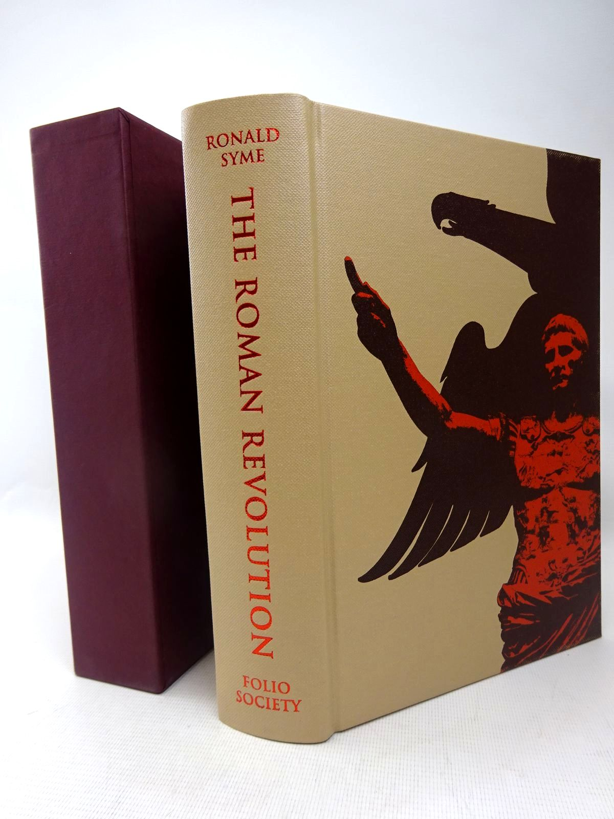 Photo of THE ROMAN REVOLUTION written by Syme, Ronald published by Folio Society (STOCK CODE: 1317501)  for sale by Stella & Rose's Books