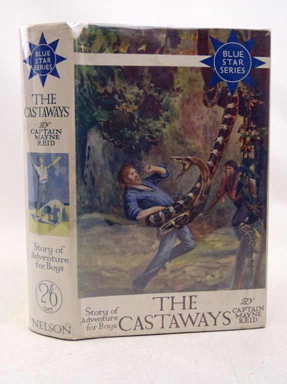 Photo of THE CASTAWAYS written by Reid, Captain Mayne published by Thomas Nelson & Sons (STOCK CODE: 1317503)  for sale by Stella & Rose's Books