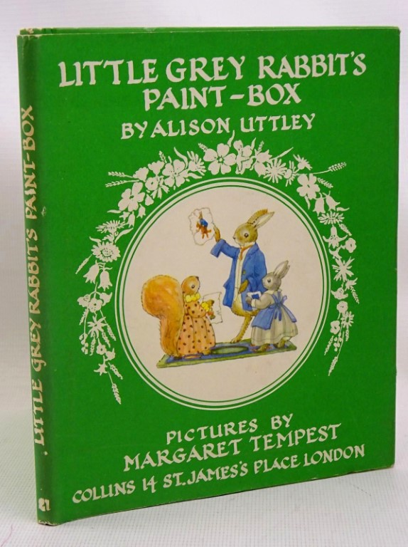 Photo of LITTLE GREY RABBIT'S PAINT-BOX written by Uttley, Alison illustrated by Tempest, Margaret published by Collins (STOCK CODE: 1317515)  for sale by Stella & Rose's Books