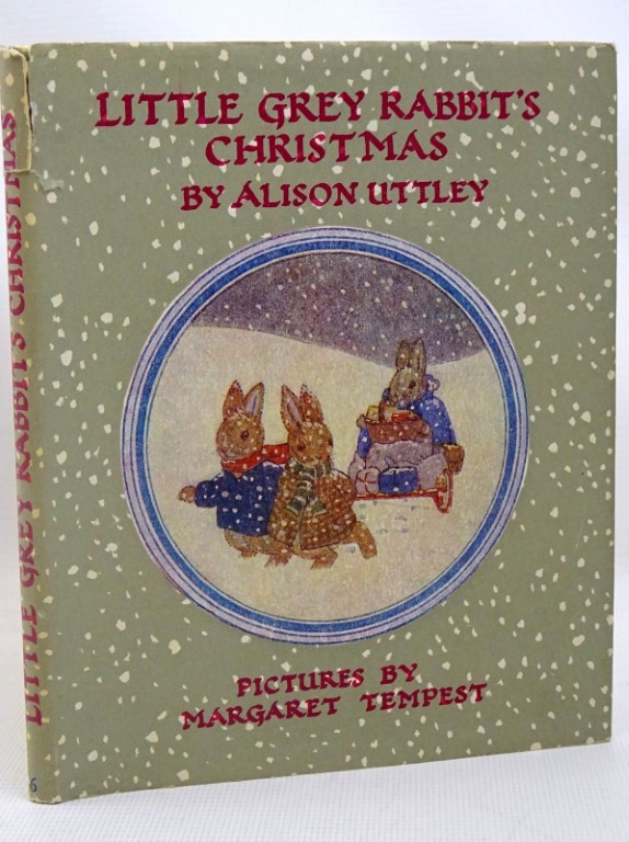 Photo of LITTLE GREY RABBIT'S CHRISTMAS written by Uttley, Alison illustrated by Tempest, Margaret published by Collins (STOCK CODE: 1317518)  for sale by Stella & Rose's Books