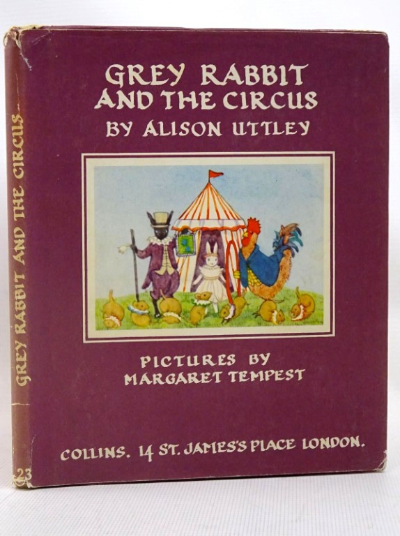 Photo of GREY RABBIT AND THE CIRCUS written by Uttley, Alison illustrated by Tempest, Margaret published by Collins (STOCK CODE: 1317520)  for sale by Stella & Rose's Books