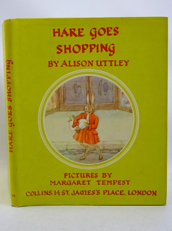 Photo of HARE GOES SHOPPING written by Uttley, Alison illustrated by Tempest, Margaret published by Collins (STOCK CODE: 1317522)  for sale by Stella & Rose's Books