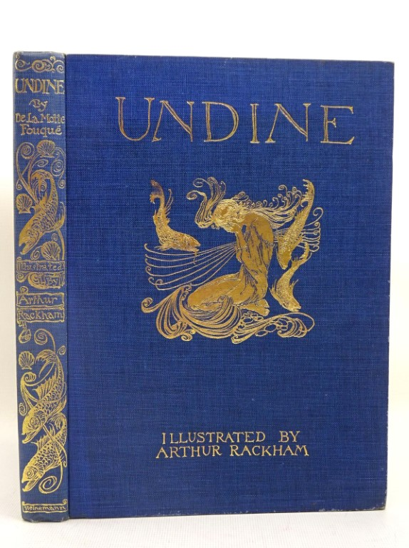 Photo of UNDINE written by De La Motte Fouque, Friedrich<br />Courtney, W.L. illustrated by Rackham, Arthur published by William Heinemann (STOCK CODE: 1317532)  for sale by Stella & Rose's Books