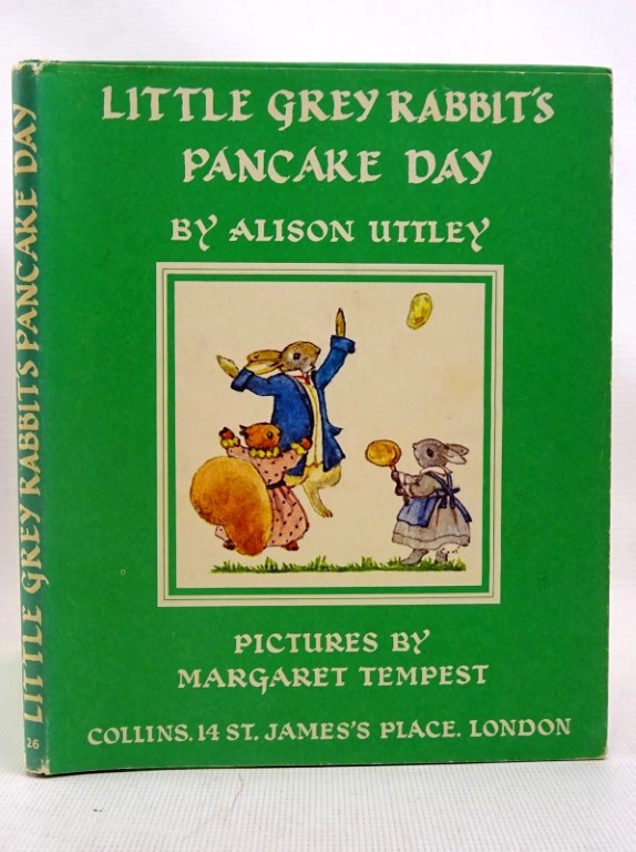 Photo of LITTLE GREY RABBIT'S PANCAKE DAY written by Uttley, Alison illustrated by Tempest, Margaret published by Collins (STOCK CODE: 1317534)  for sale by Stella & Rose's Books