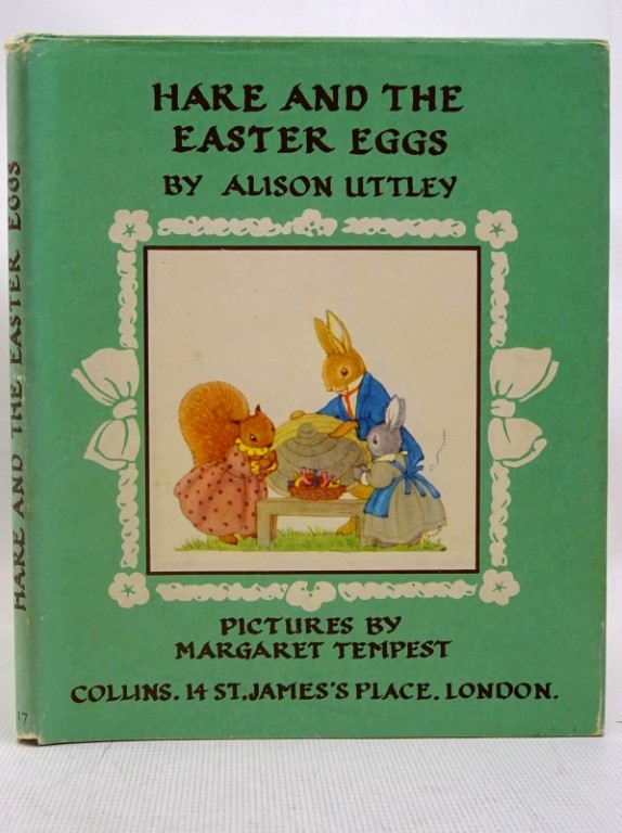 Photo of HARE AND THE EASTER EGGS- Stock Number: 1317539